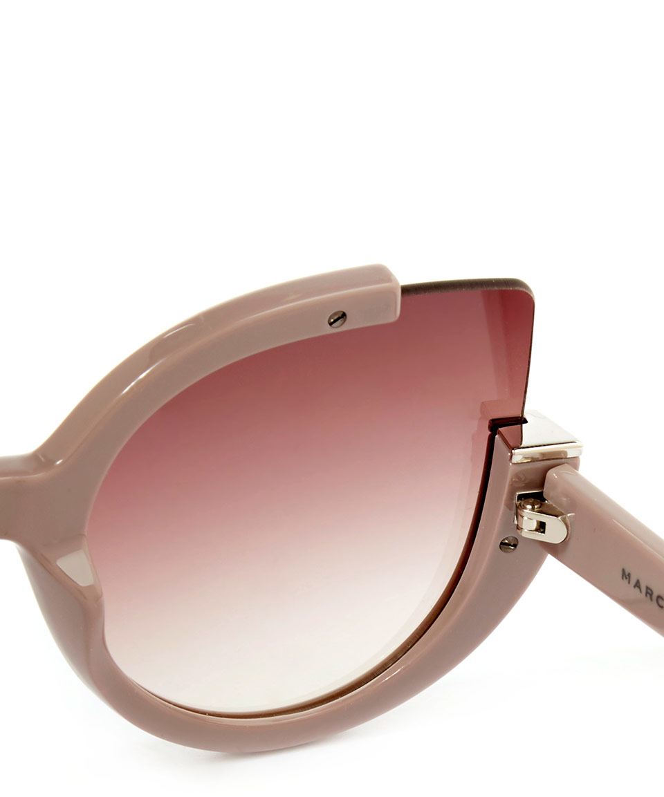 Lyst Marc By Marc Jacobs Pink Cats Eye Half Frame
