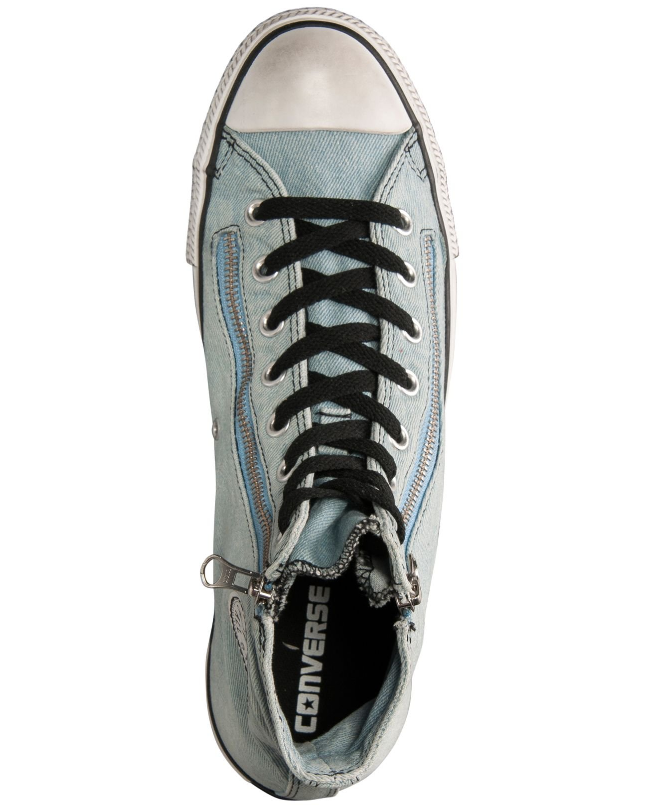 26b37c0700fc Lyst - Converse Men S Chuck Taylor All Star Double Zip Casual ...