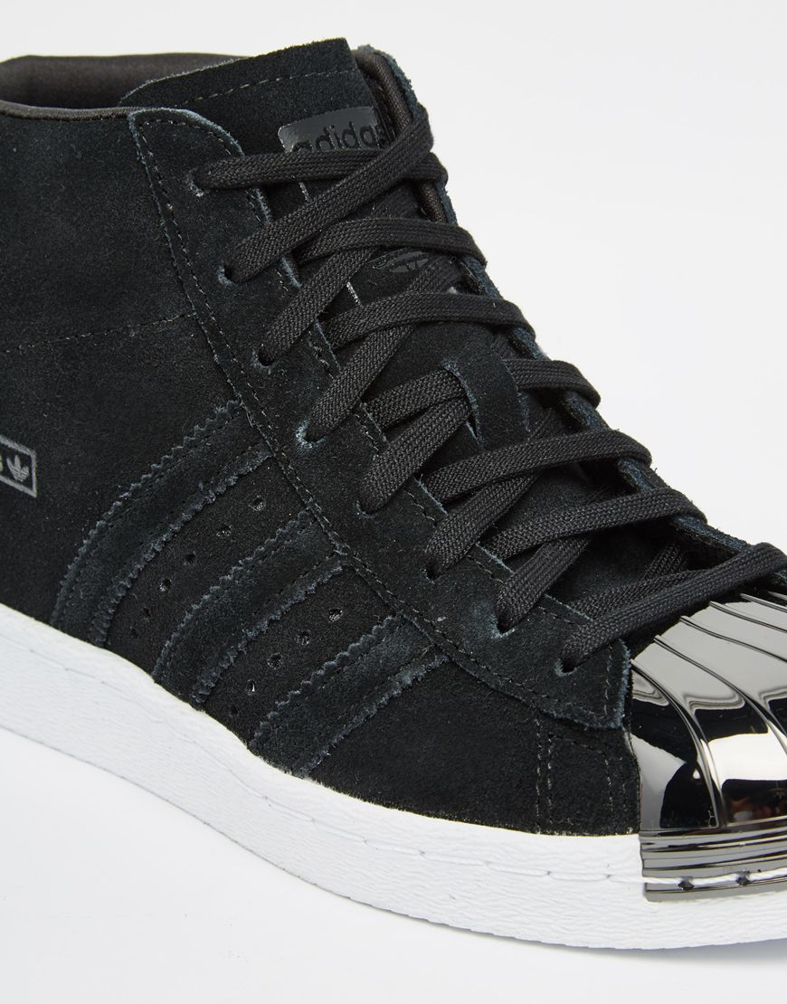 85f70f49e8cf ... new zealand lyst adidas originals originals black suede superstar up  metal toe 1b4c8 0b080