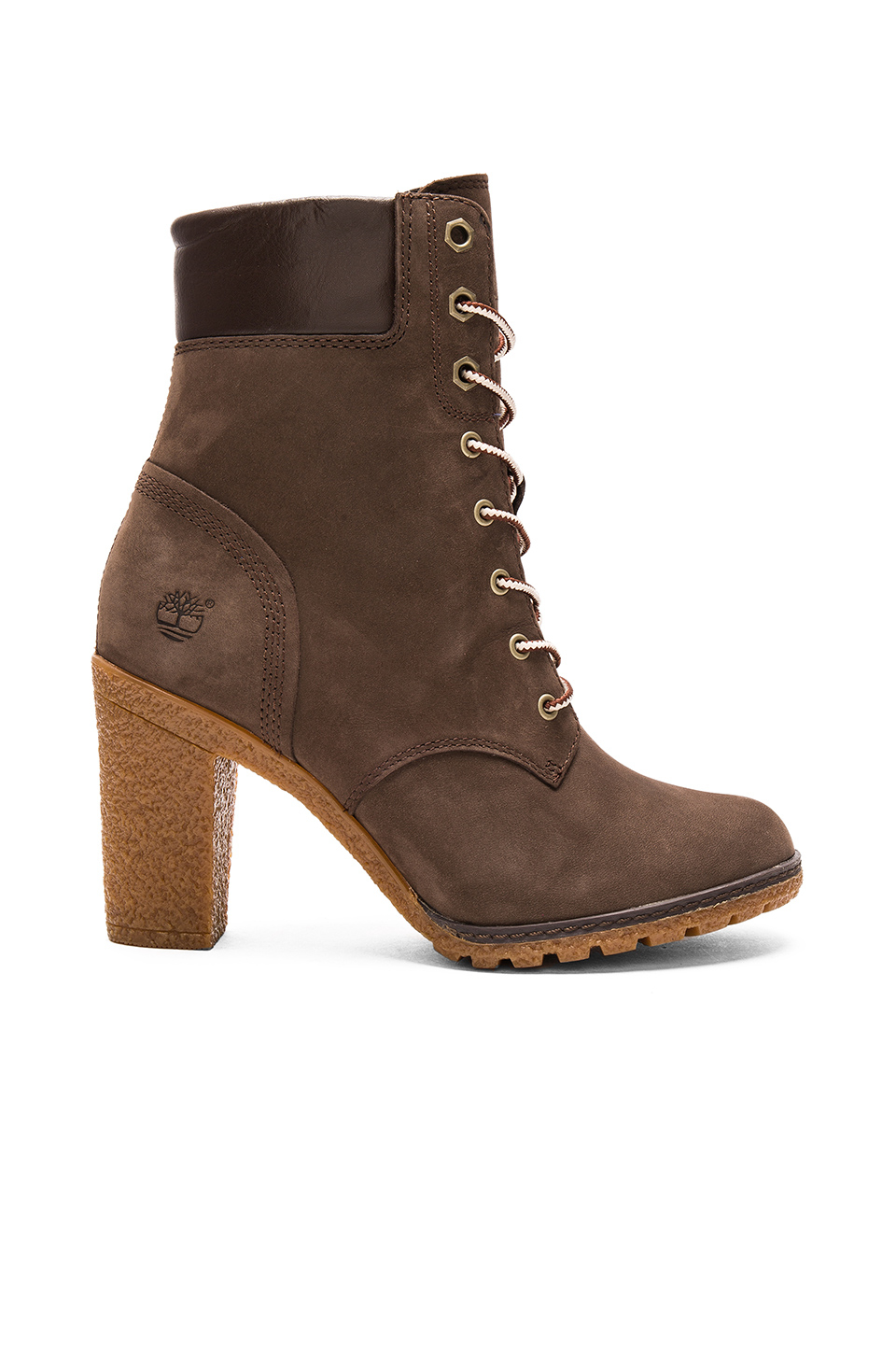 timberland glancy boot in brown lyst