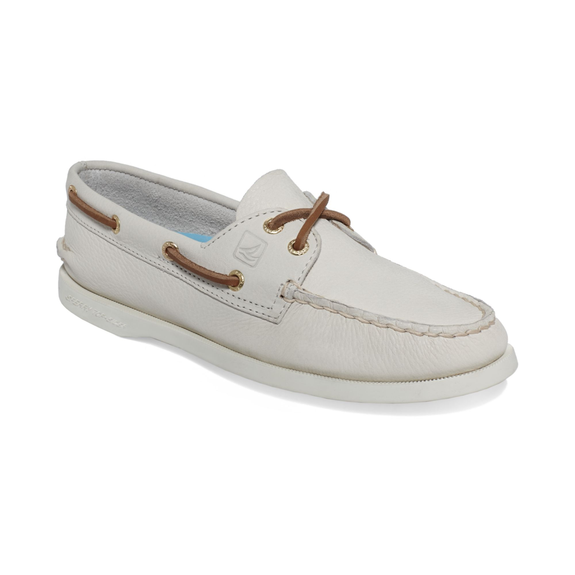 Sperry top-sider Womens Ao Boat Shoes in White | Lyst