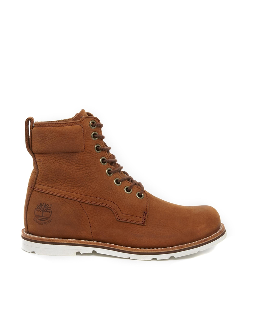 Lyst Timberland Earthkeepers Rugged Plain Toe Boots In