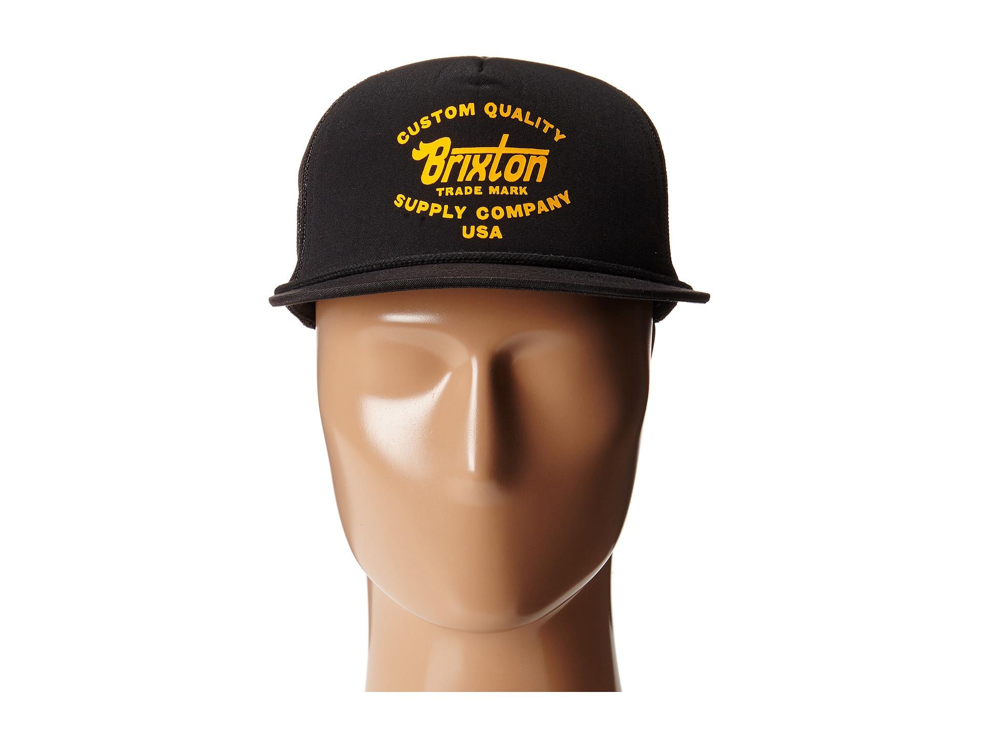 2564c99720445 Lyst - Brixton Erwin Mesh Cap in Black for Men