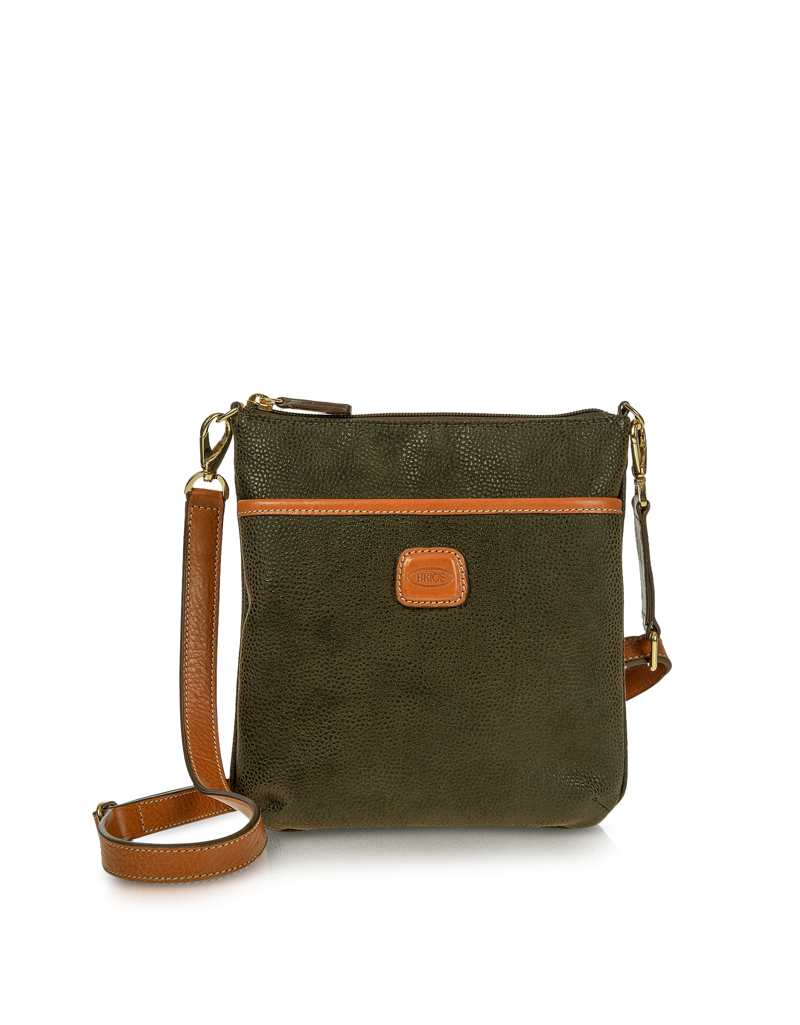 Lyst Bric S Life Olive Green Small Crossbody Bag In Green