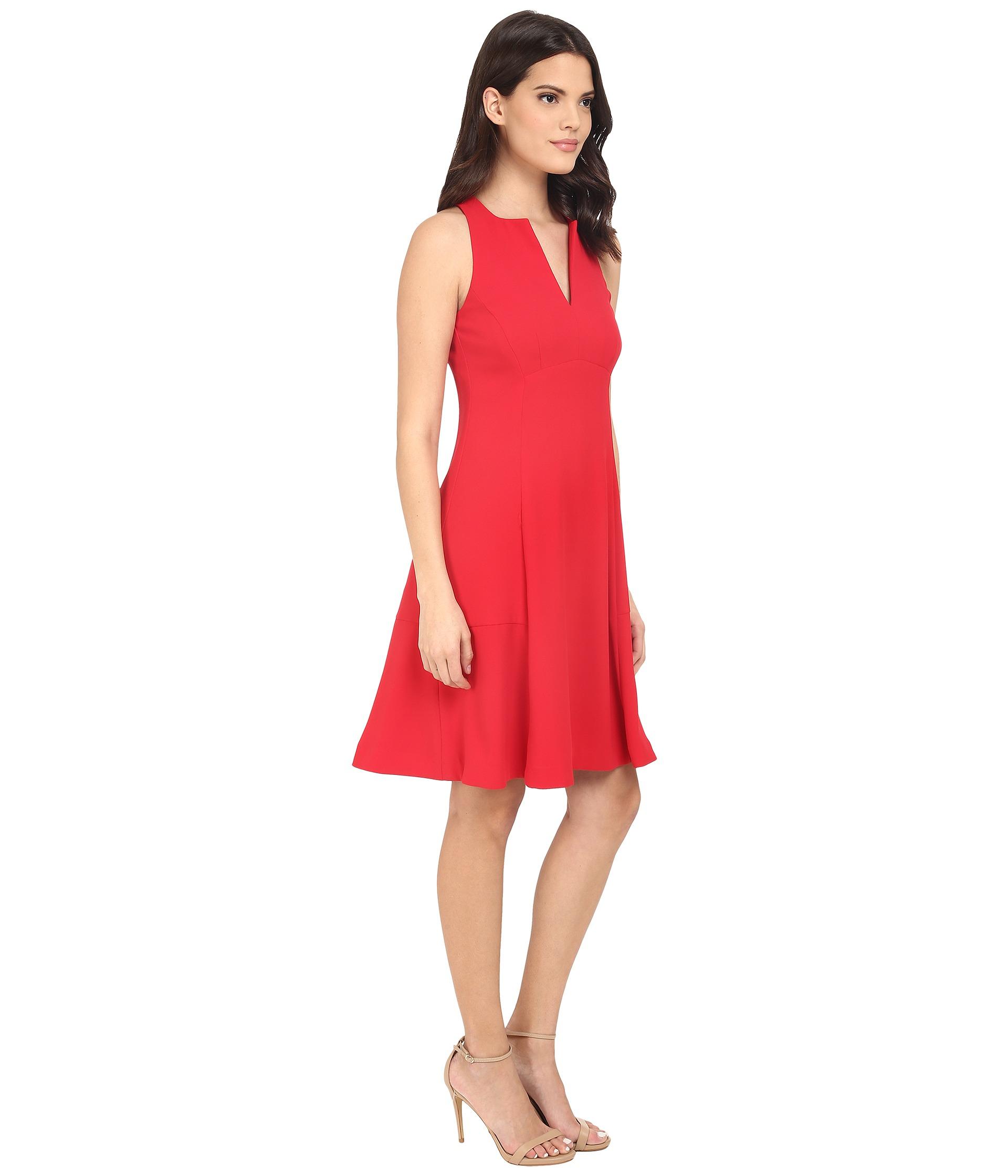 Nanette lepore Skylight Dress in Red  Lyst