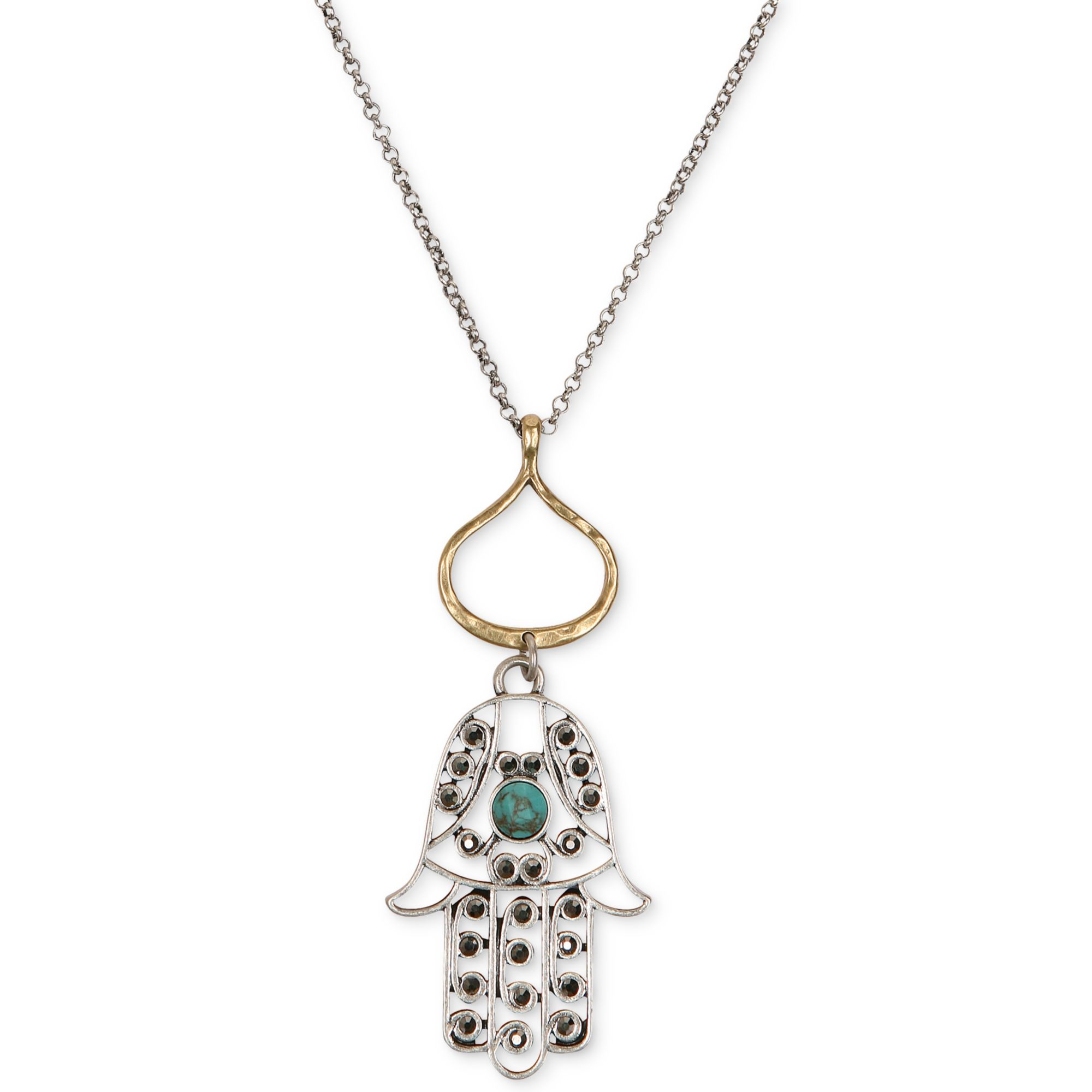 Lyst  Lucky Brand Twotone Lapis And Turquoise Hamsa. Diamond Chain Chains. 2 Kilo Gold Chains. 6mm Chains. End Watch Chains. Necklace Set Chains. Editing Chains. Vaddanam Chains. Karat Gold Chains