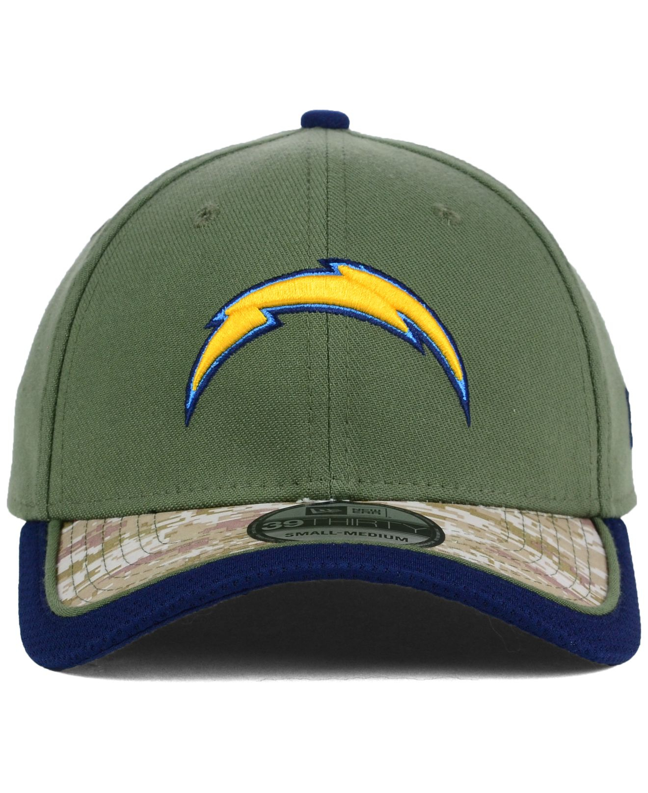 Lyst - Ktz San Diego Chargers Salute To Service 39thirty Cap in ... dfc107f12837