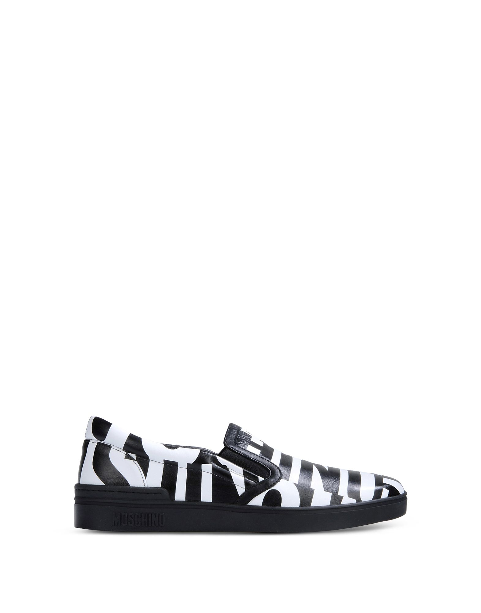 Moschino Moccasins in Black for Men