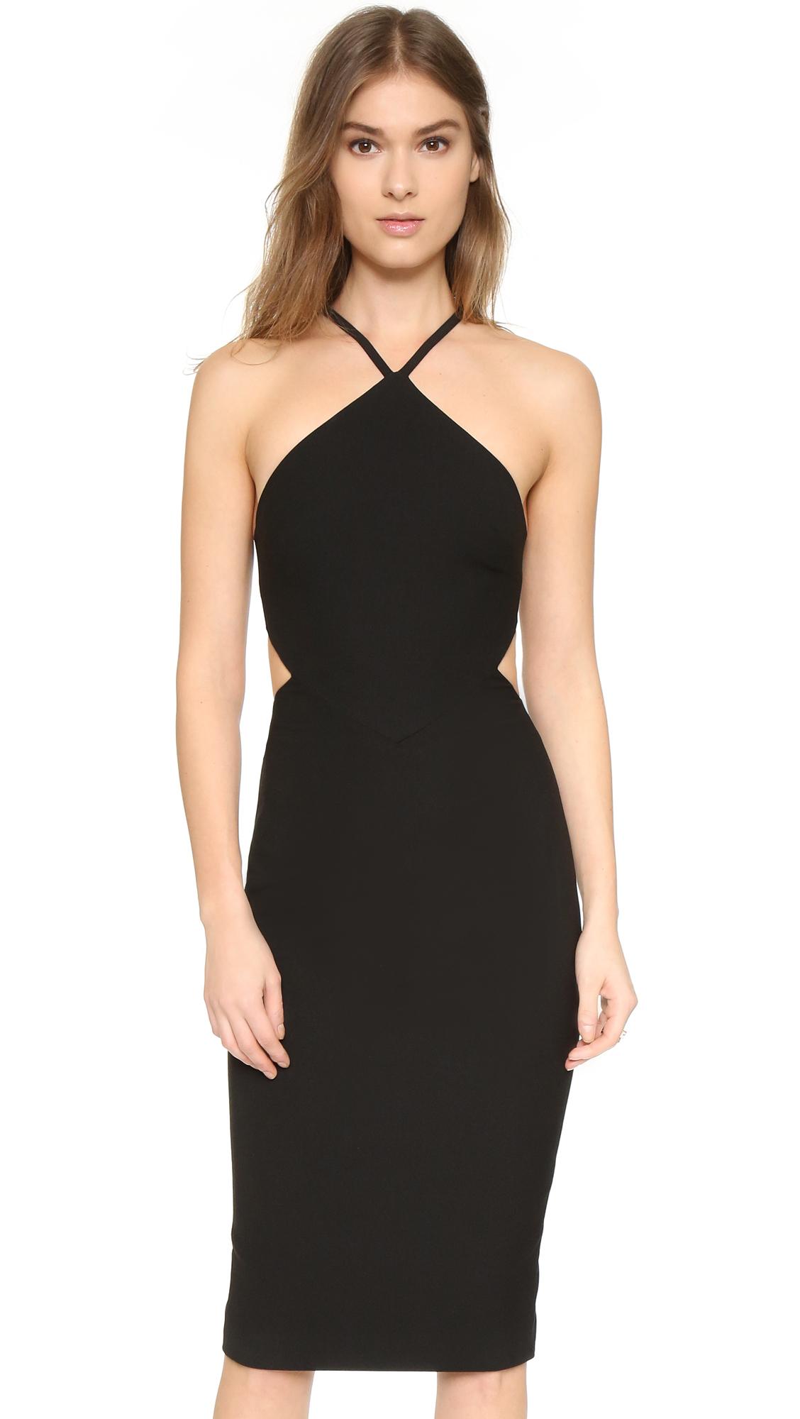 lyst elizabeth and james riza dress in black. Black Bedroom Furniture Sets. Home Design Ideas