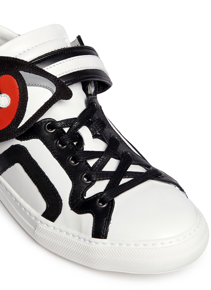 Pierre Hardy Oh Roy Low-Top Sneakers