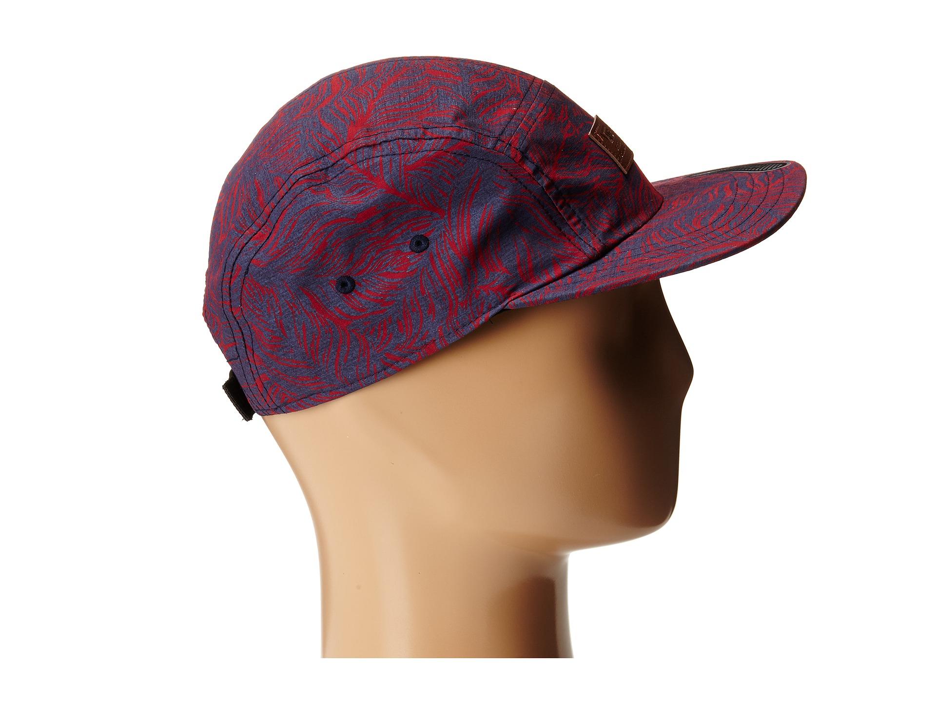 cbf761a7dc1 Lyst - Vans Davis 5 Panel Camper Hat in Red for Men