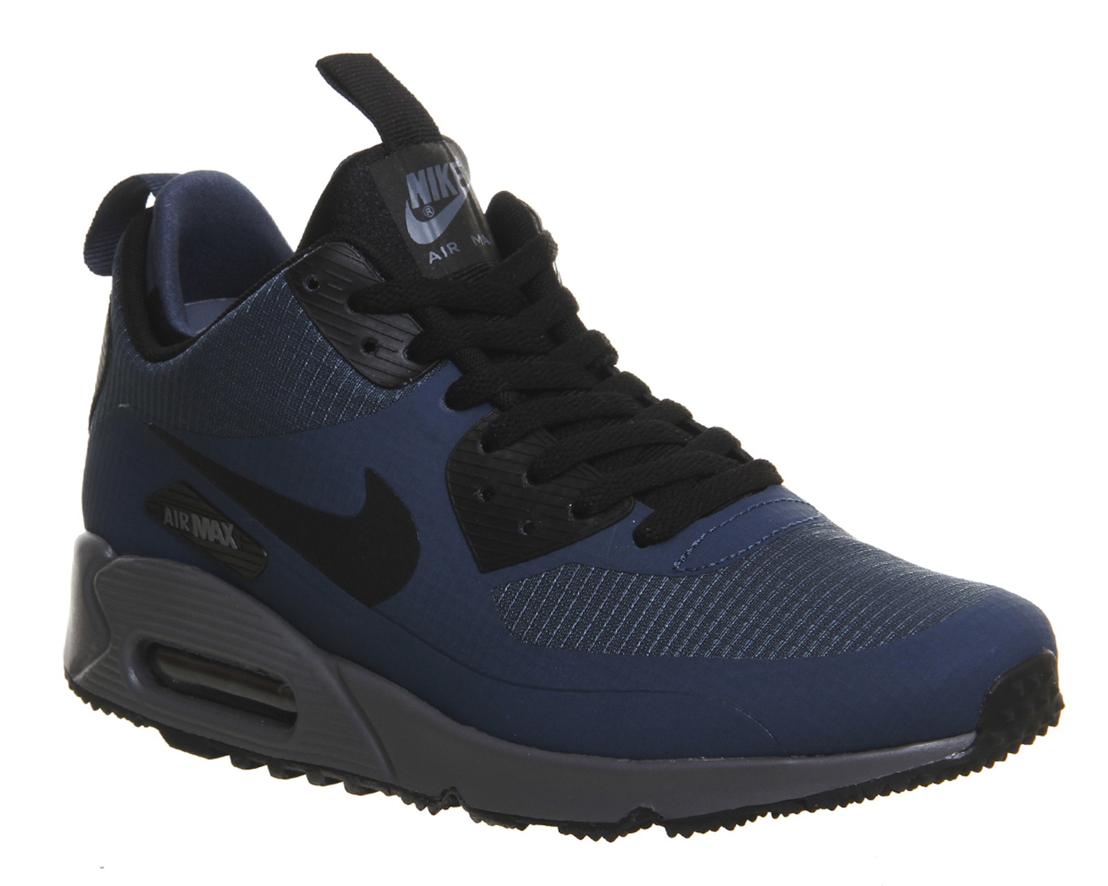 nike air max 90 mid winter in blue for men lyst. Black Bedroom Furniture Sets. Home Design Ideas
