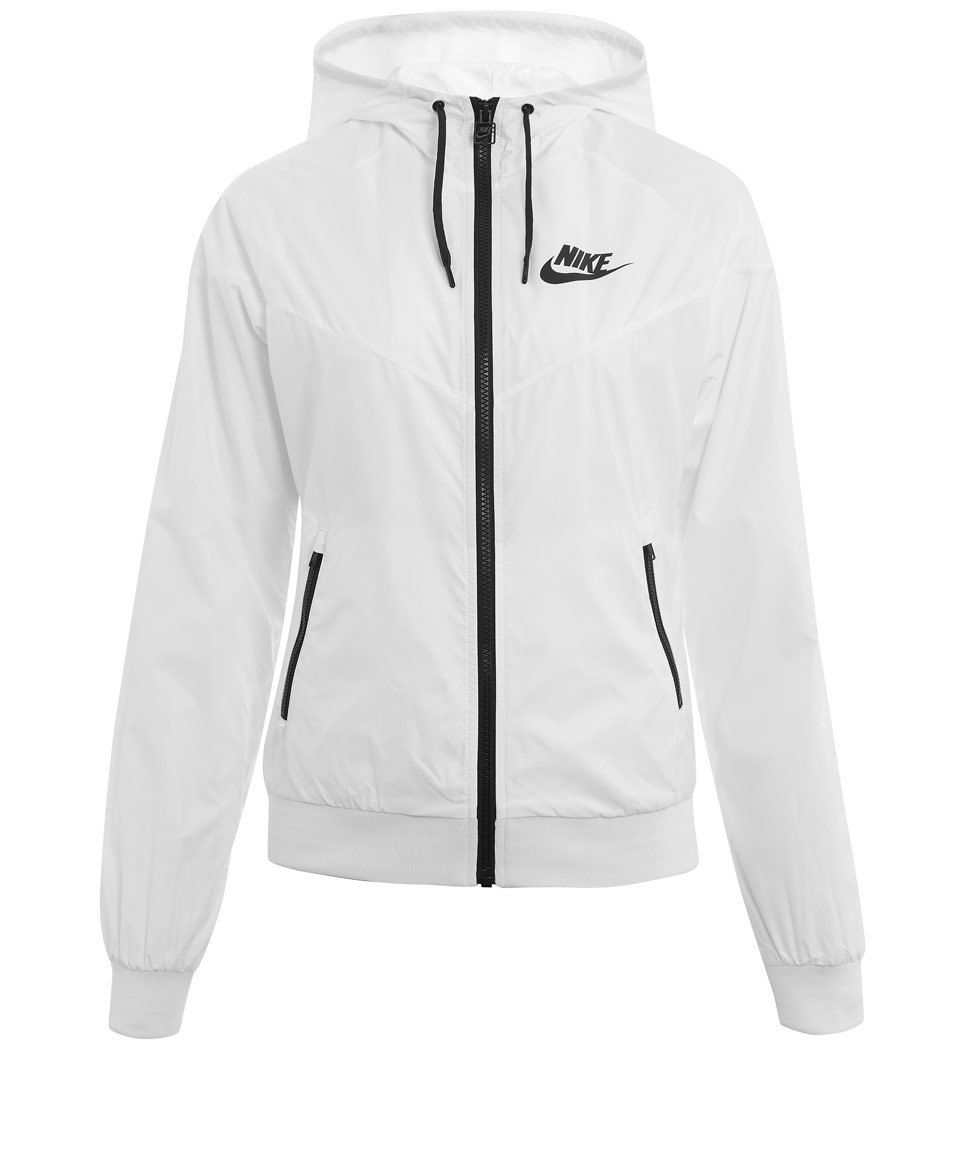 2b58fcec84 Lyst - Nike White Windrunner Jacket in White