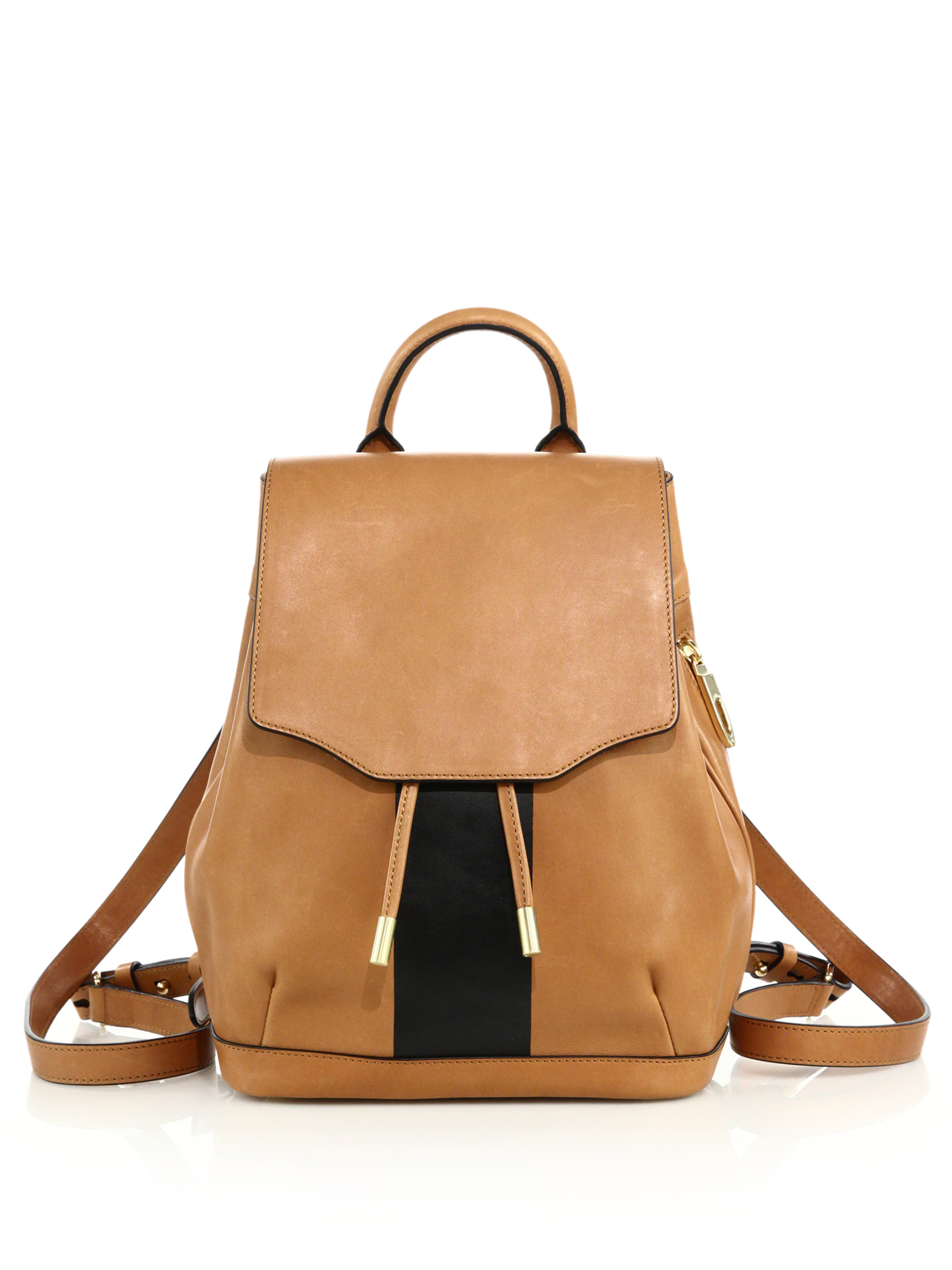 8219b688d1 Lyst - Rag   Bone Pilot Mini Two-tone Leather Backpack in Brown