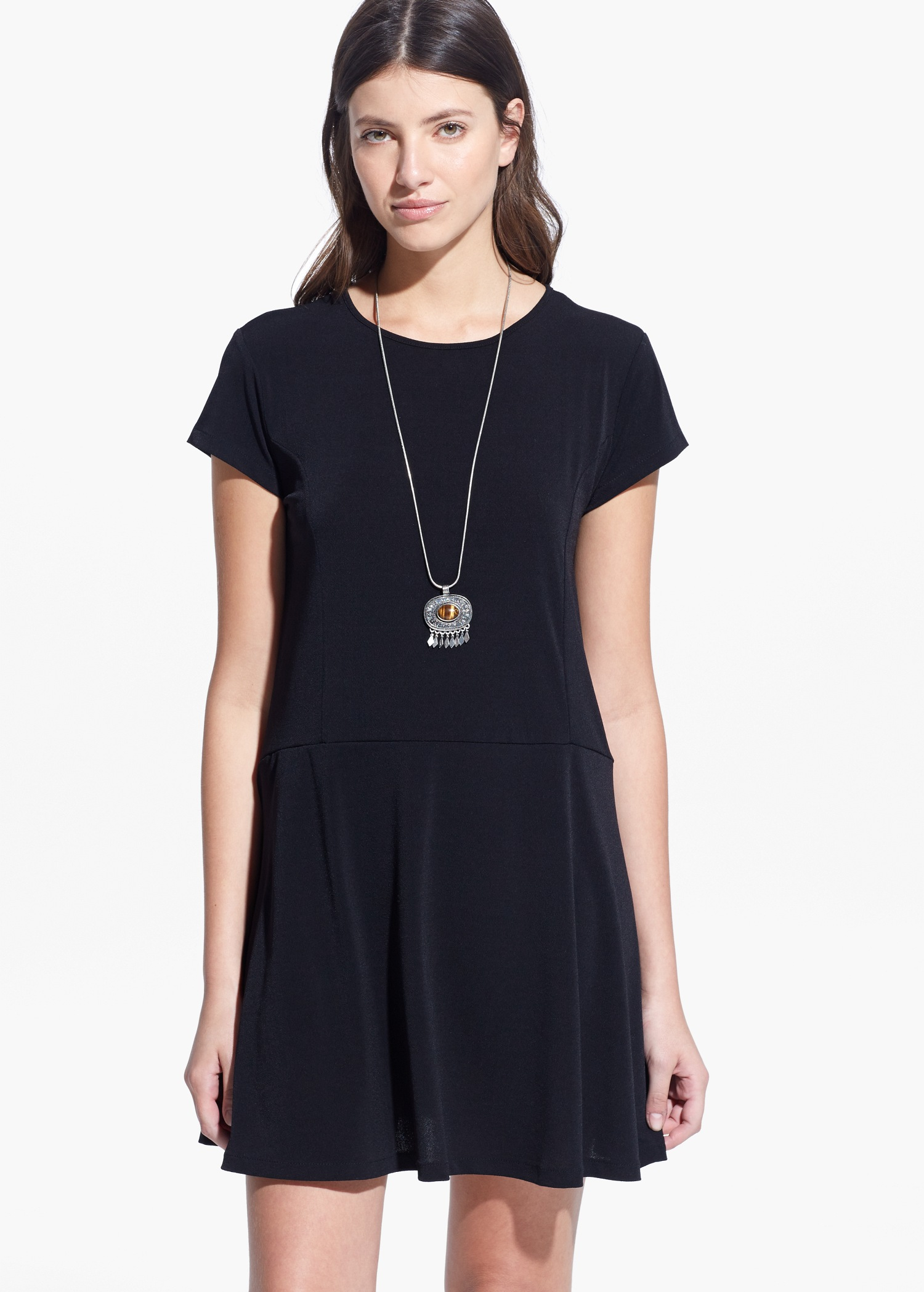 Flared skirt dress - Women | MANGO USA