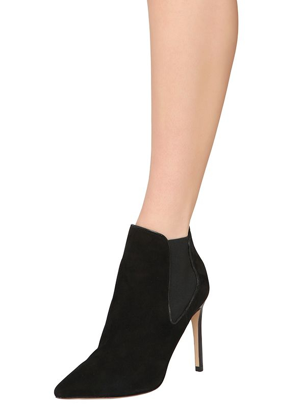 dfa55ab049b0a3 Tory Burch 85mm Dorset Suede Ankle Boots in Black - Lyst