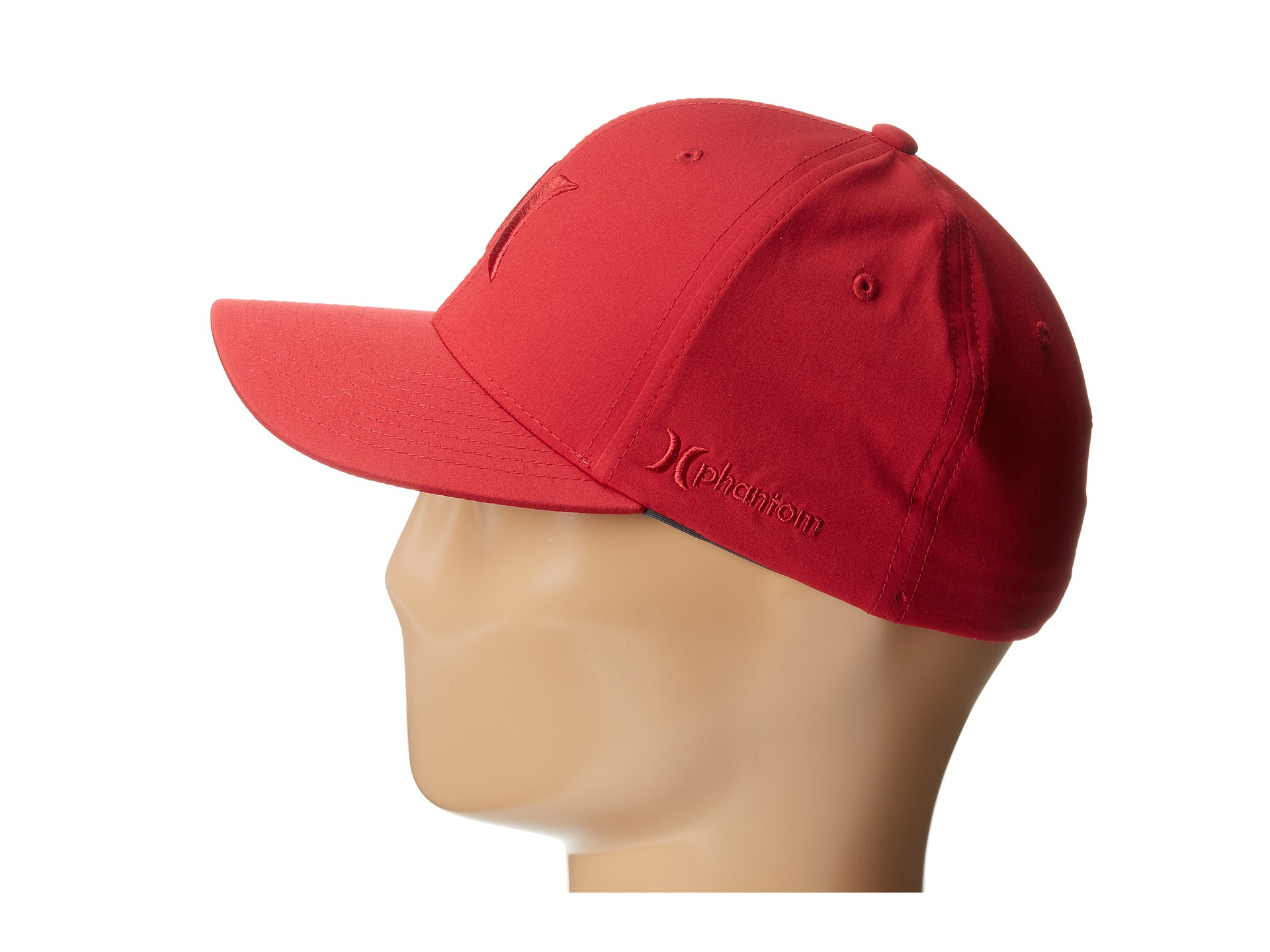 reputable site 616b6 3507a coupon for hurley dri fit heather flex cap 77ca3 fb6a5  where to buy lyst hurley  phantom one only flexfit permacurve hat in red for men 007ac