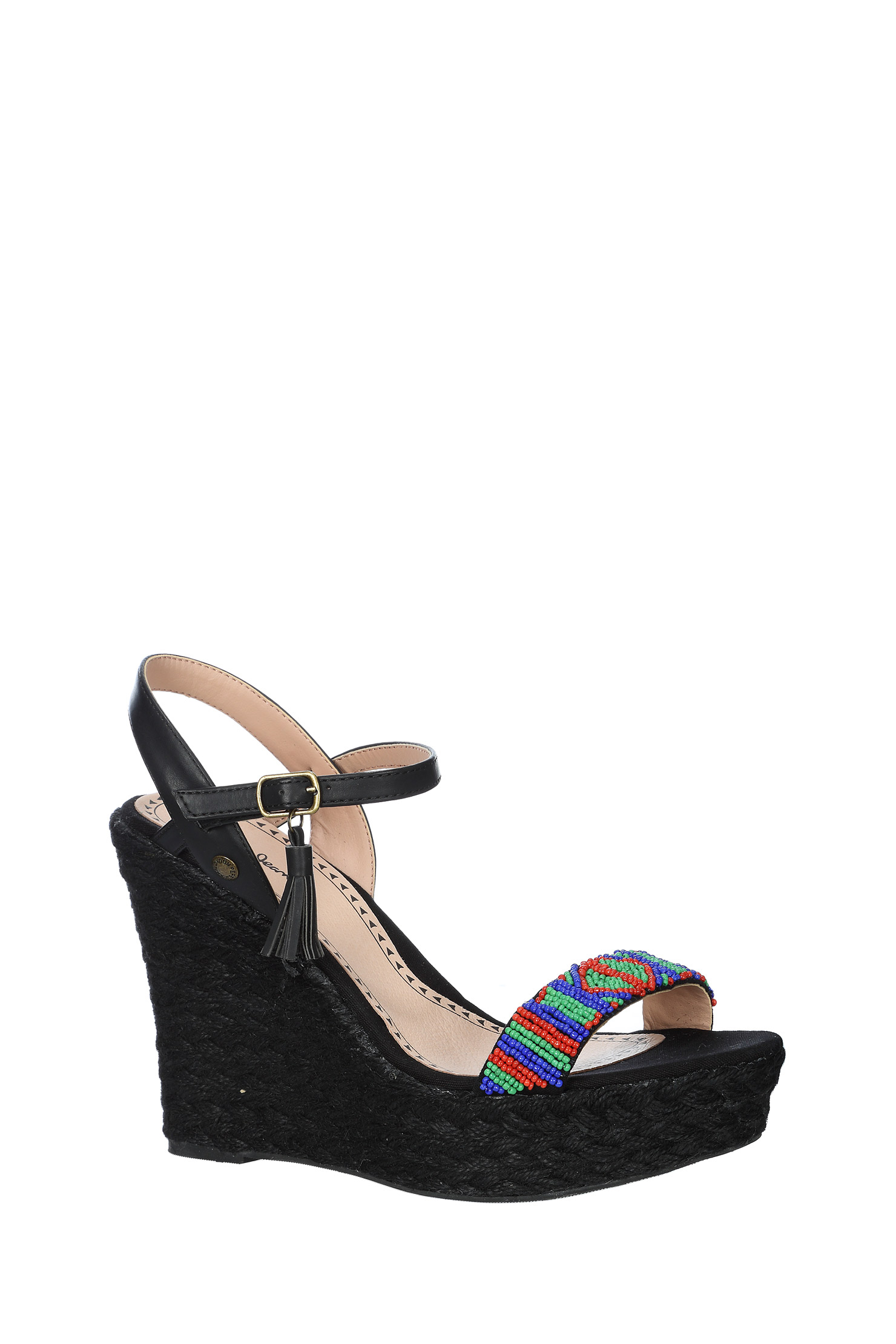Pepe Jeans Wedges - Shoes Pls10019 Wass in Black