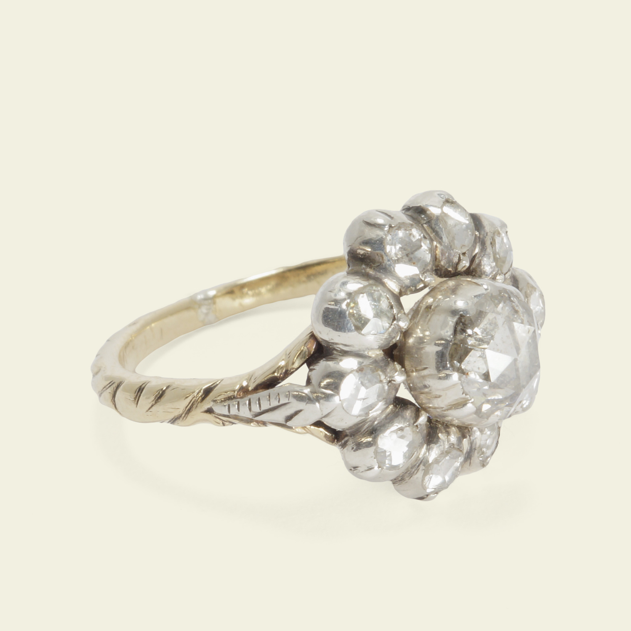 jewellery engagement collections audrey ring rings ethical rose products cut no proposal solitaire claude
