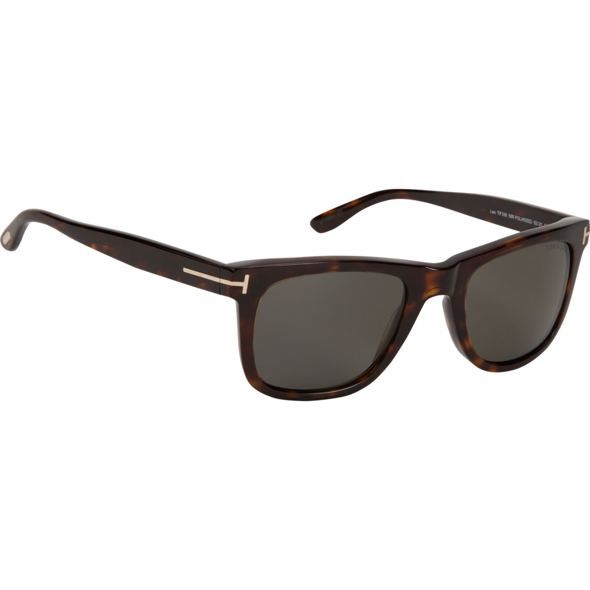 d33827be91 Lyst - Tom Ford Leo Sunglasses in Brown for Men