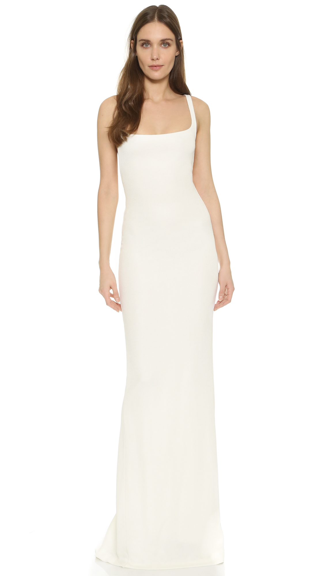 Lyst - Dsquared² Sleeveless Gown in White