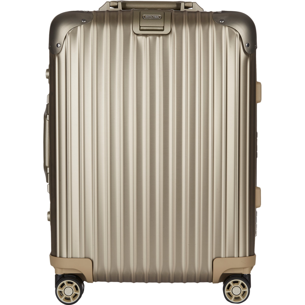 rimowa topas titanium 22 cabin multiwheel iata suitcase in. Black Bedroom Furniture Sets. Home Design Ideas