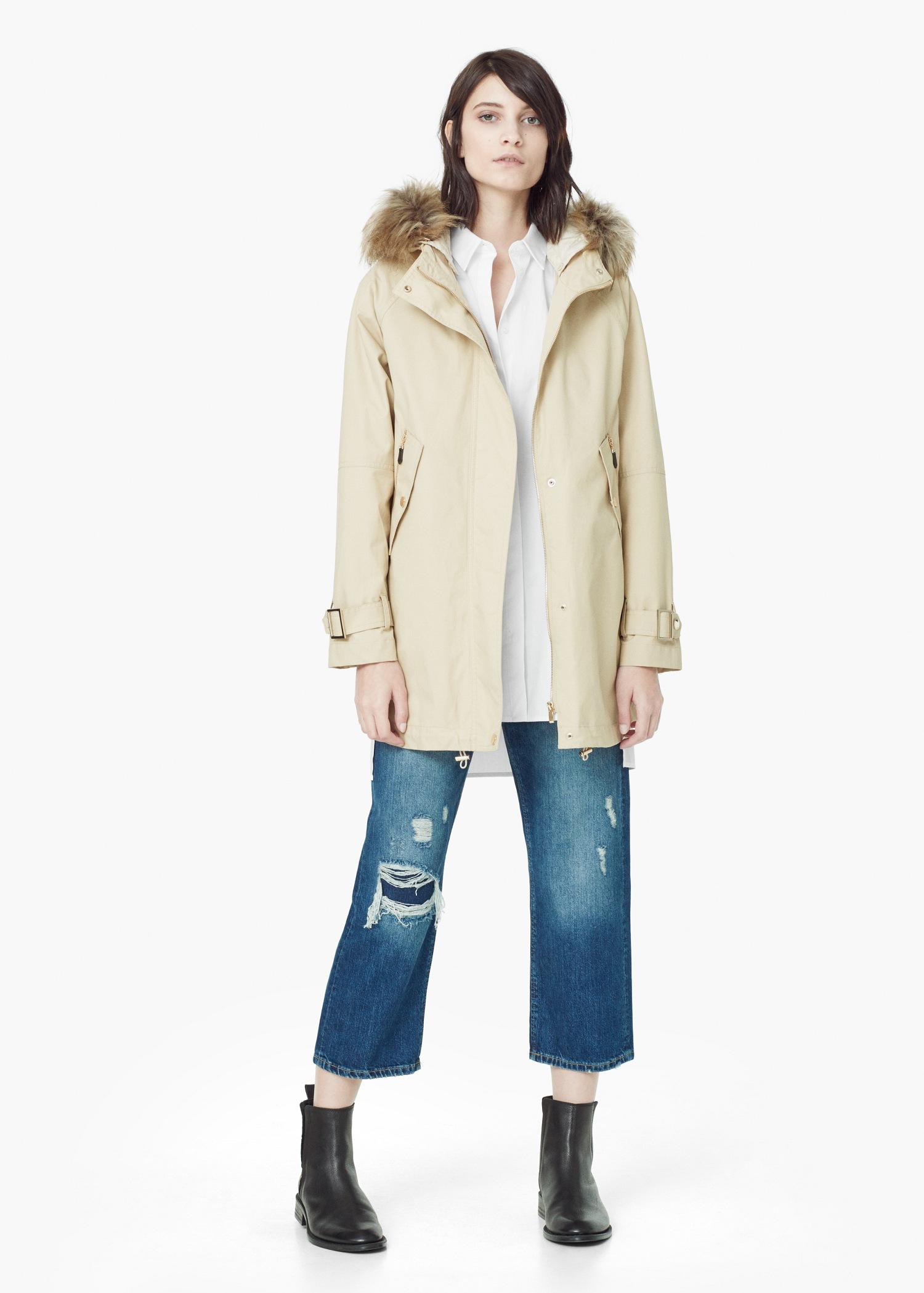 Faux Fur Hooded Coat Fashion Women S Coat 2017
