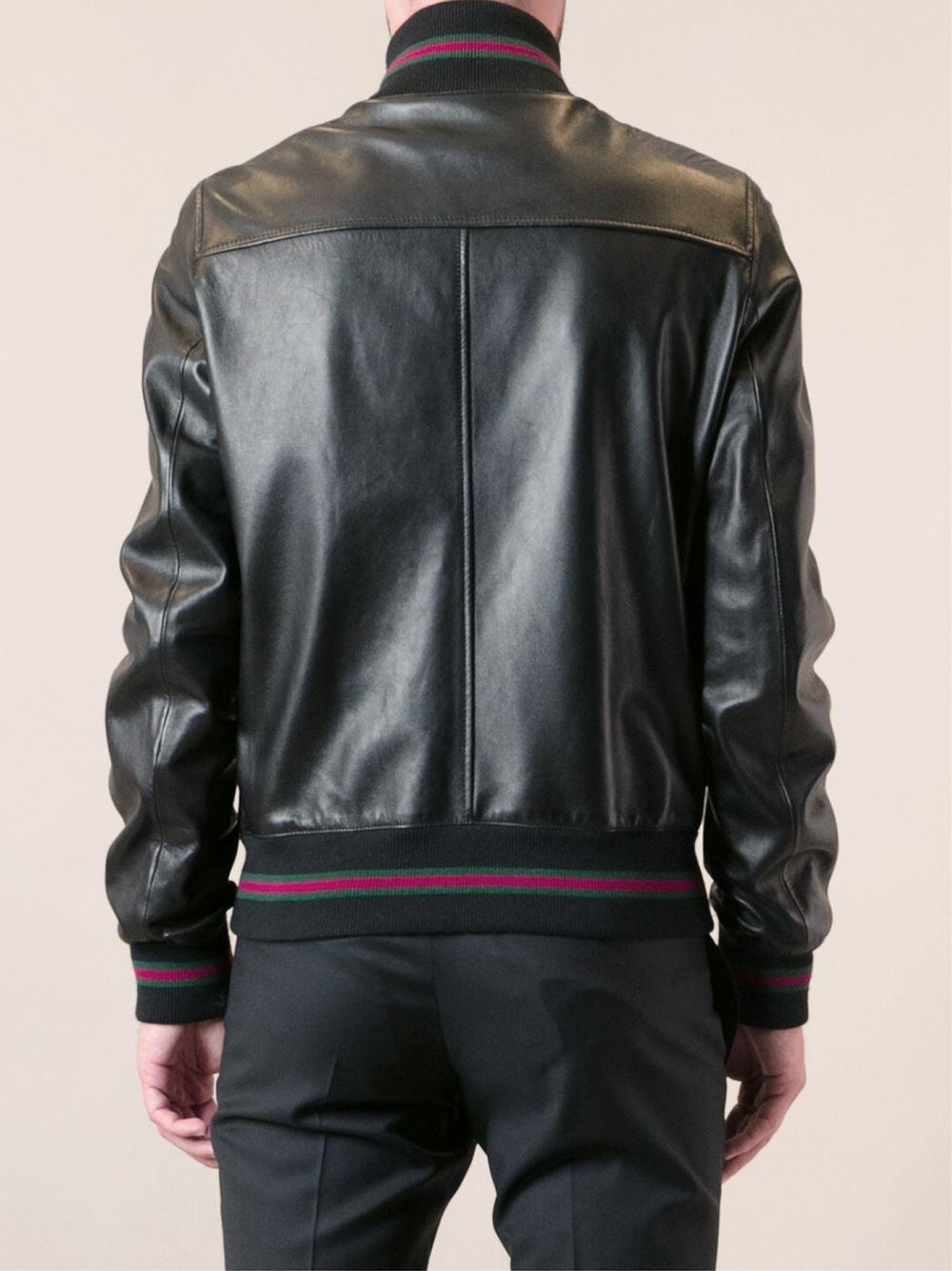Gucci Bomber Jacket in Black for Men