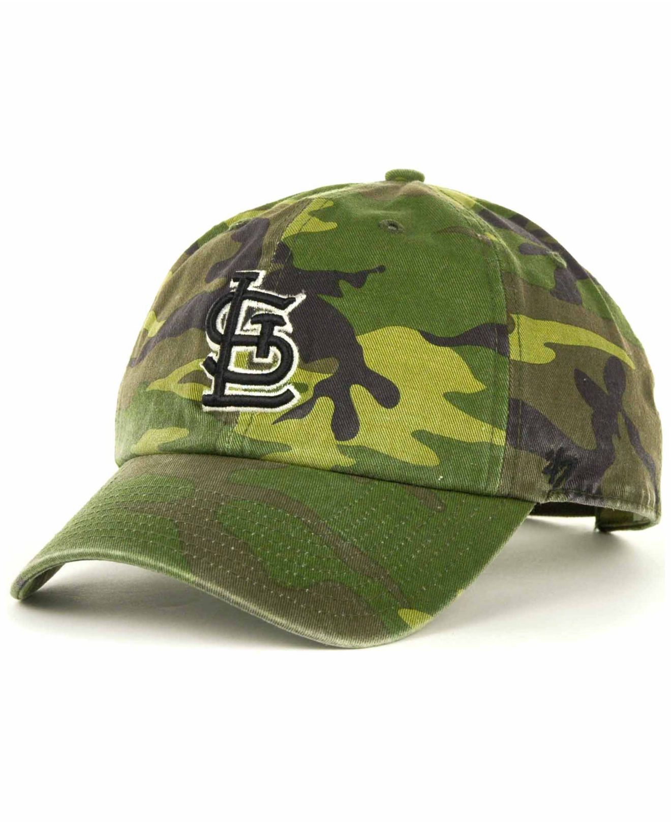 newest ae09f 38021 ... free shipping st. louis cardinals new era neo 39thirty flex hat  realtree camo red lyst