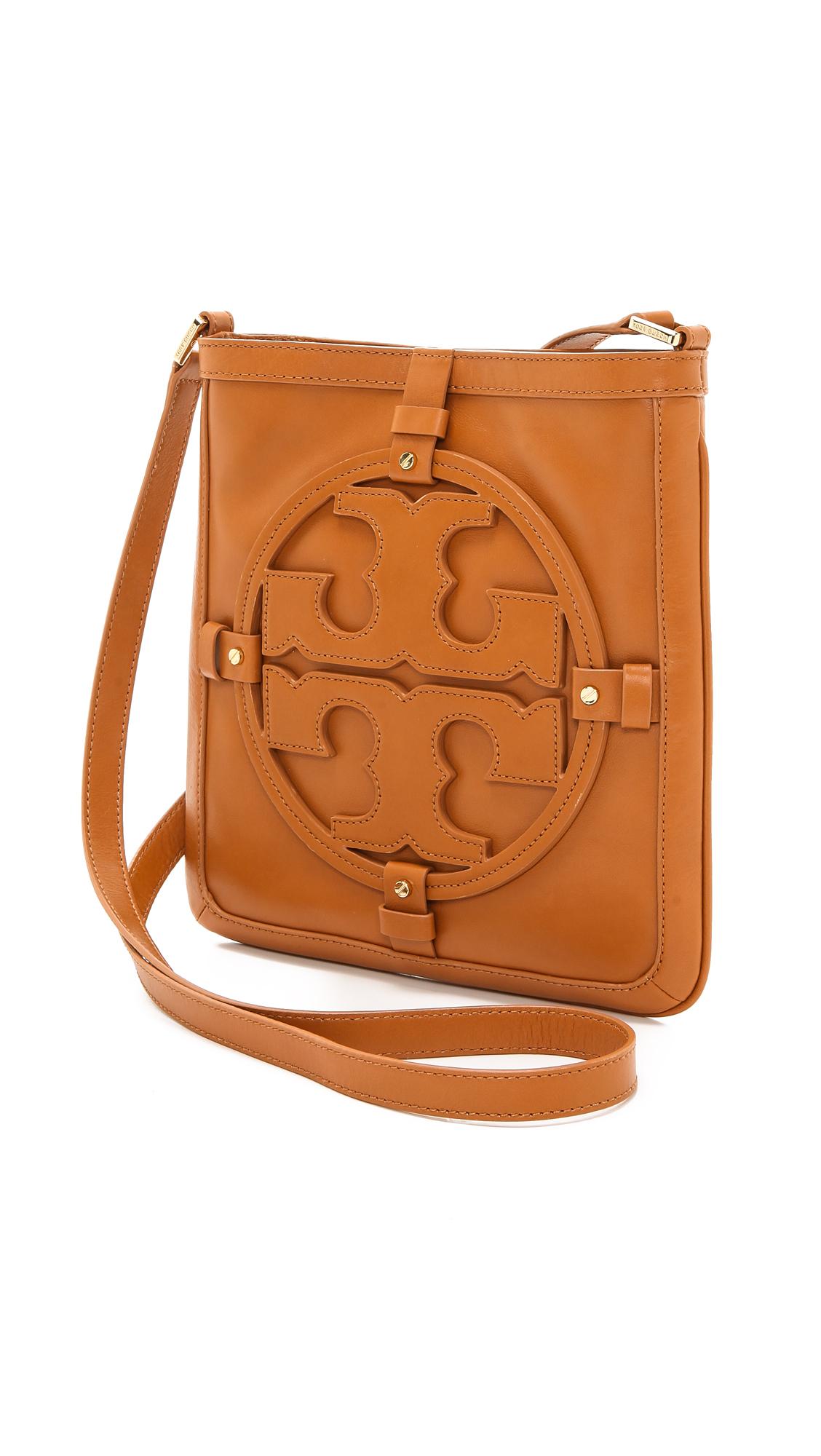 cc768774ca0 Lyst - Tory Burch Holly Book Bag in Brown