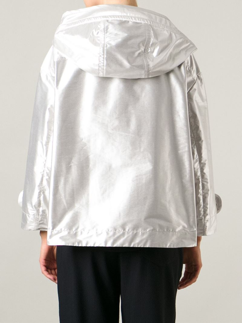 Moncler domon jacket in metallic lyst for Domon canada