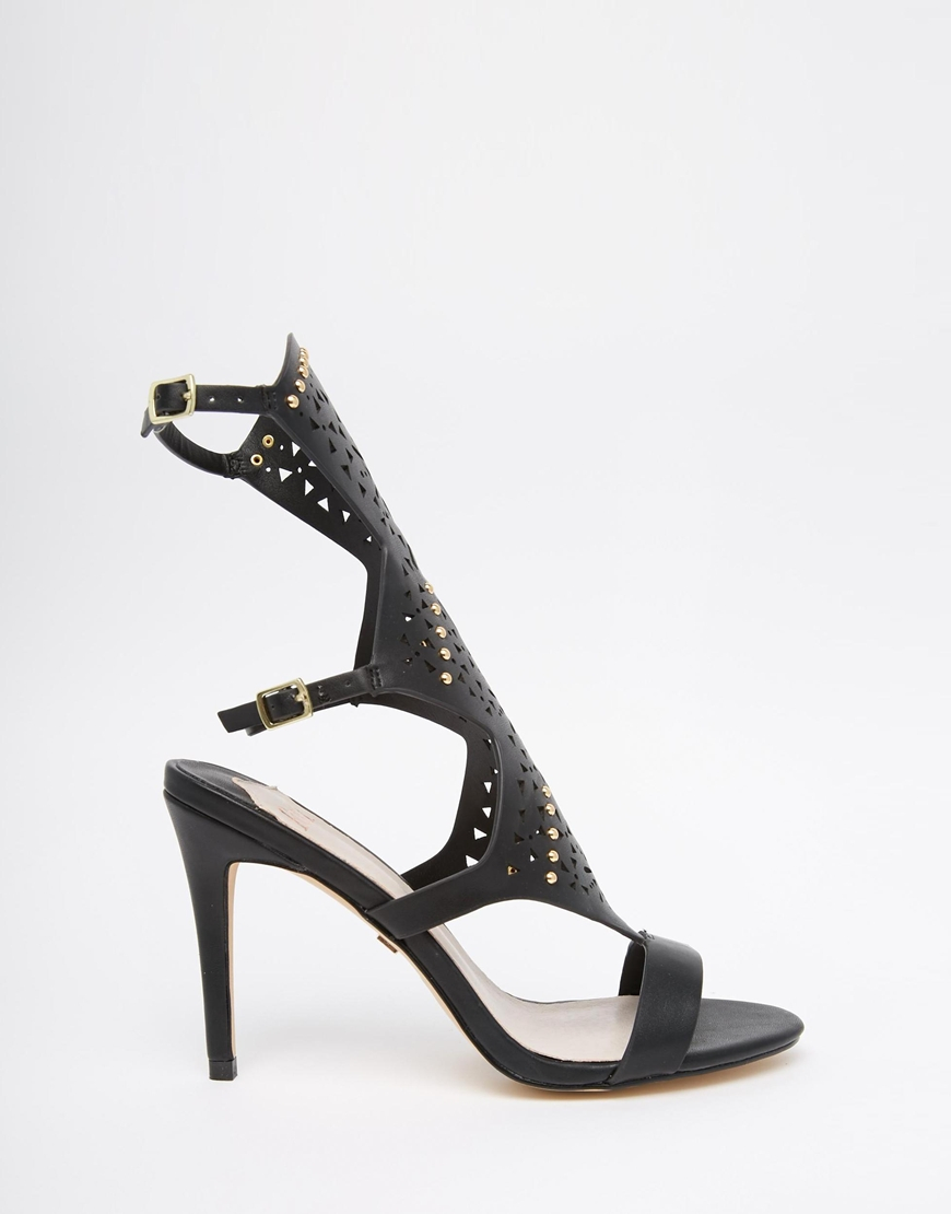 V by Very High Leg Gladiator Sandal Achieve a flirty fashion look with these fierce gladiator sandals from V by Very. The high leg wraps around the calves, revealing and concealing your pins for .