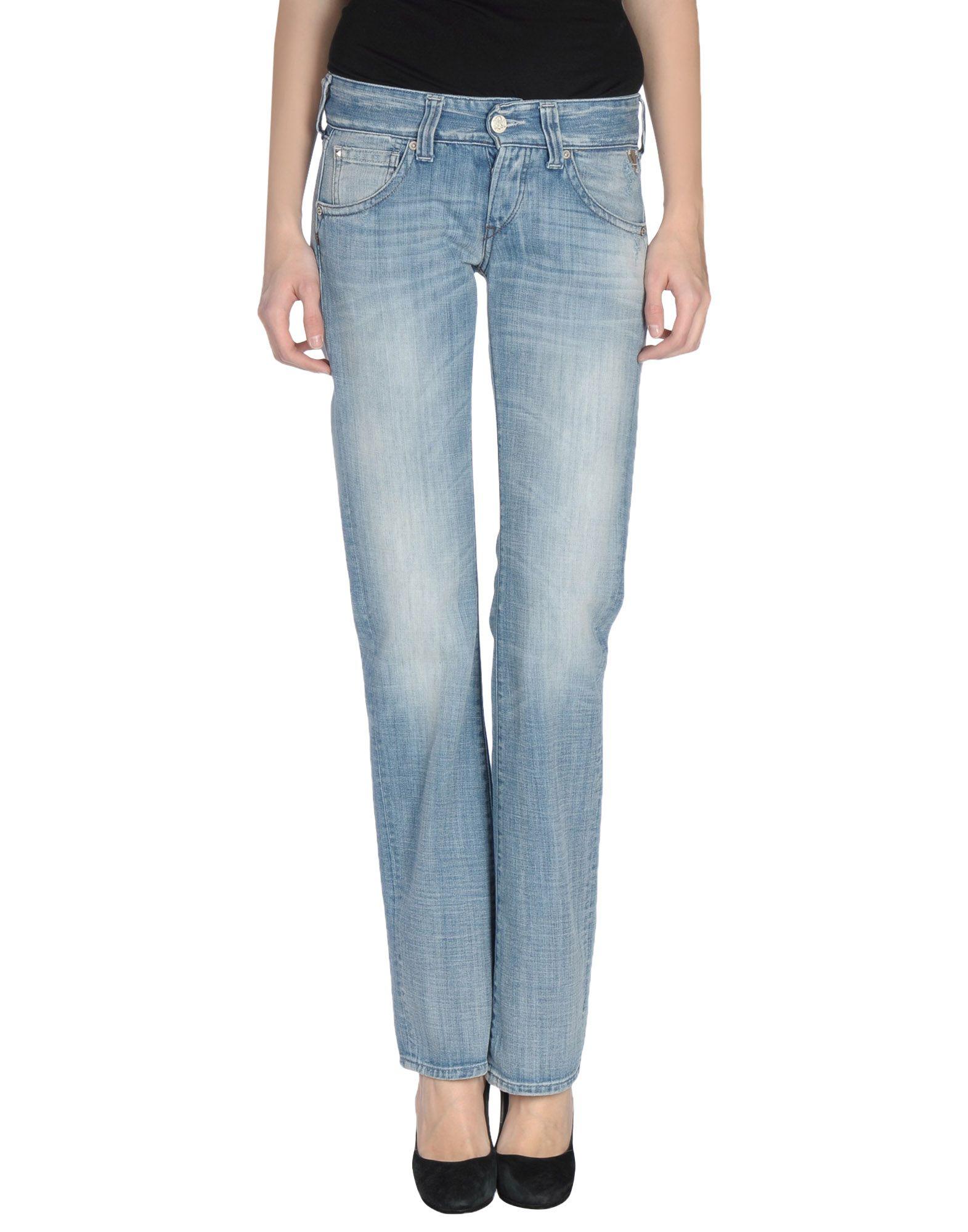 Lyst - Replay Denim Pants in Blue
