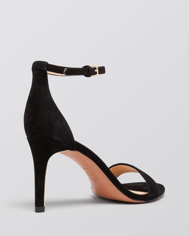 a26e882d9cb1 Tory Burch Ankle Strap Sandals - Keri High Heel in Black - Lyst