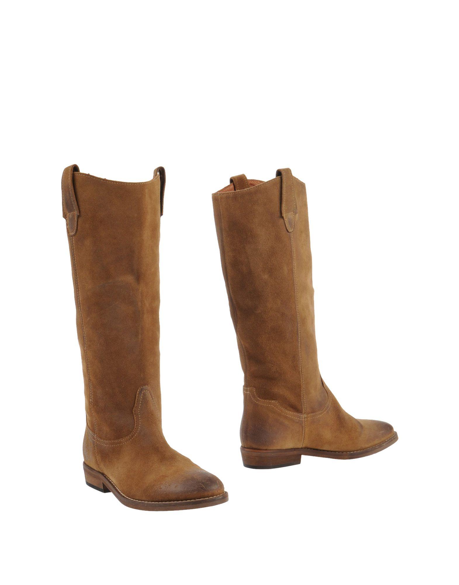 cbe96d6f40a0dc Lyst - Les Trois Garçons Boots in Natural