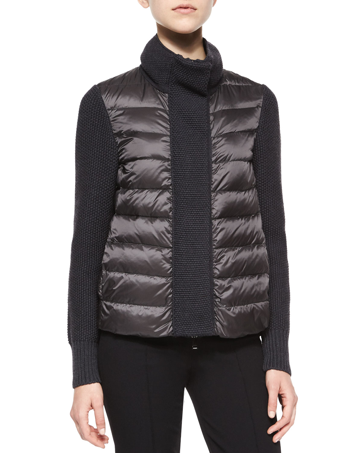 Moncler Puffer Knit Co... Ivanka Trump Clothing