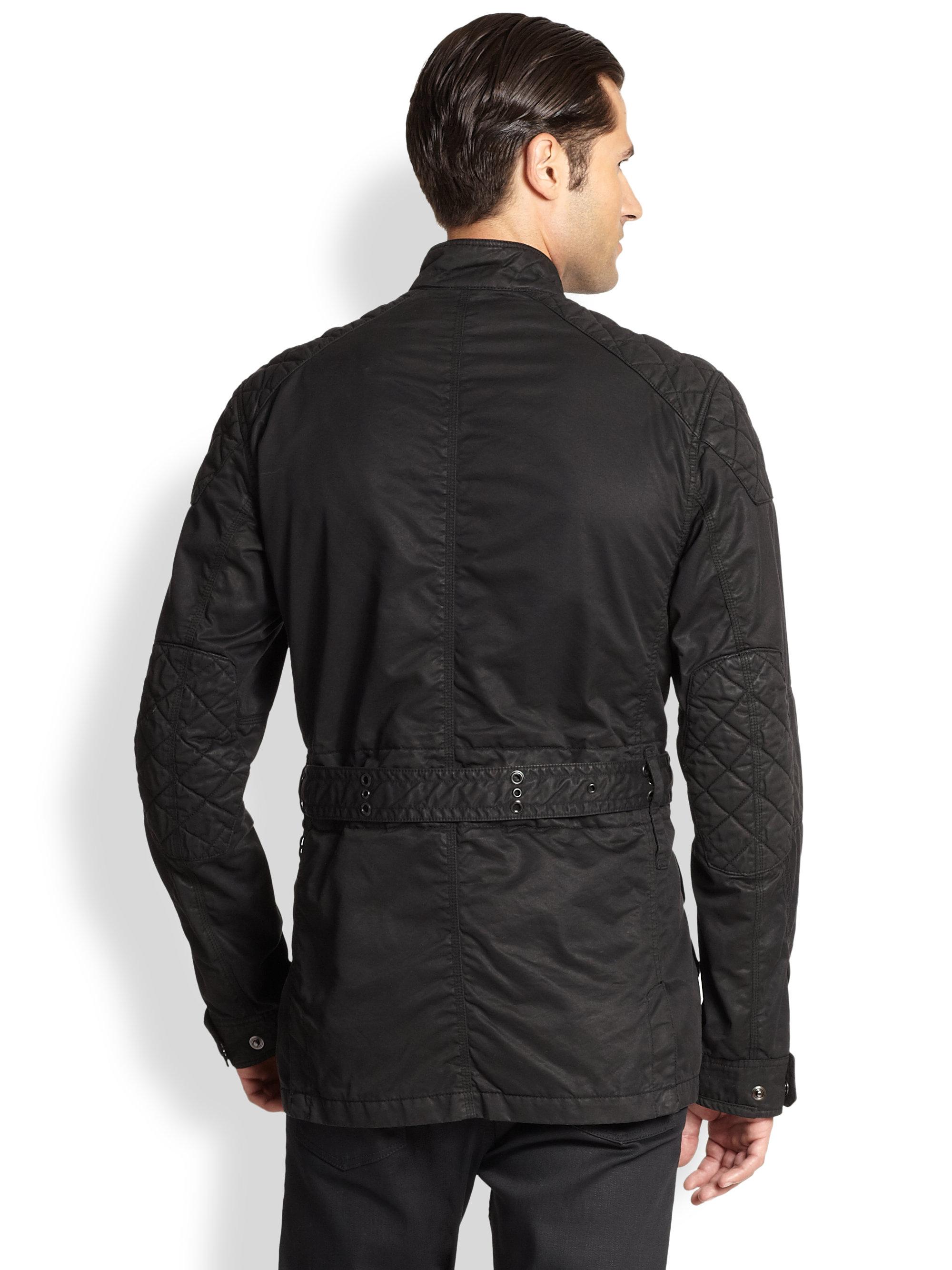 Ralph Lauren Black Label Suspension 4 Pocket Jacket In