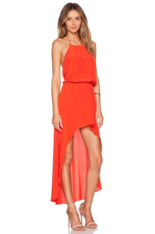 Lyst Karina Grimaldi Makeila Maxi Dress Jolie Clothing Neil Polka Midi Gallery