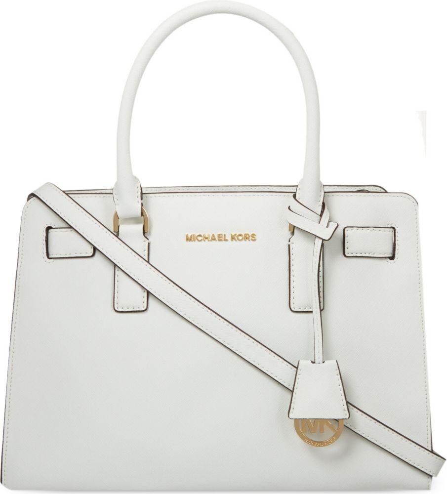 0852ab859512 ... cheap michael michael kors dillon medium saffiano leather satchel bag  3d7fe 8c772