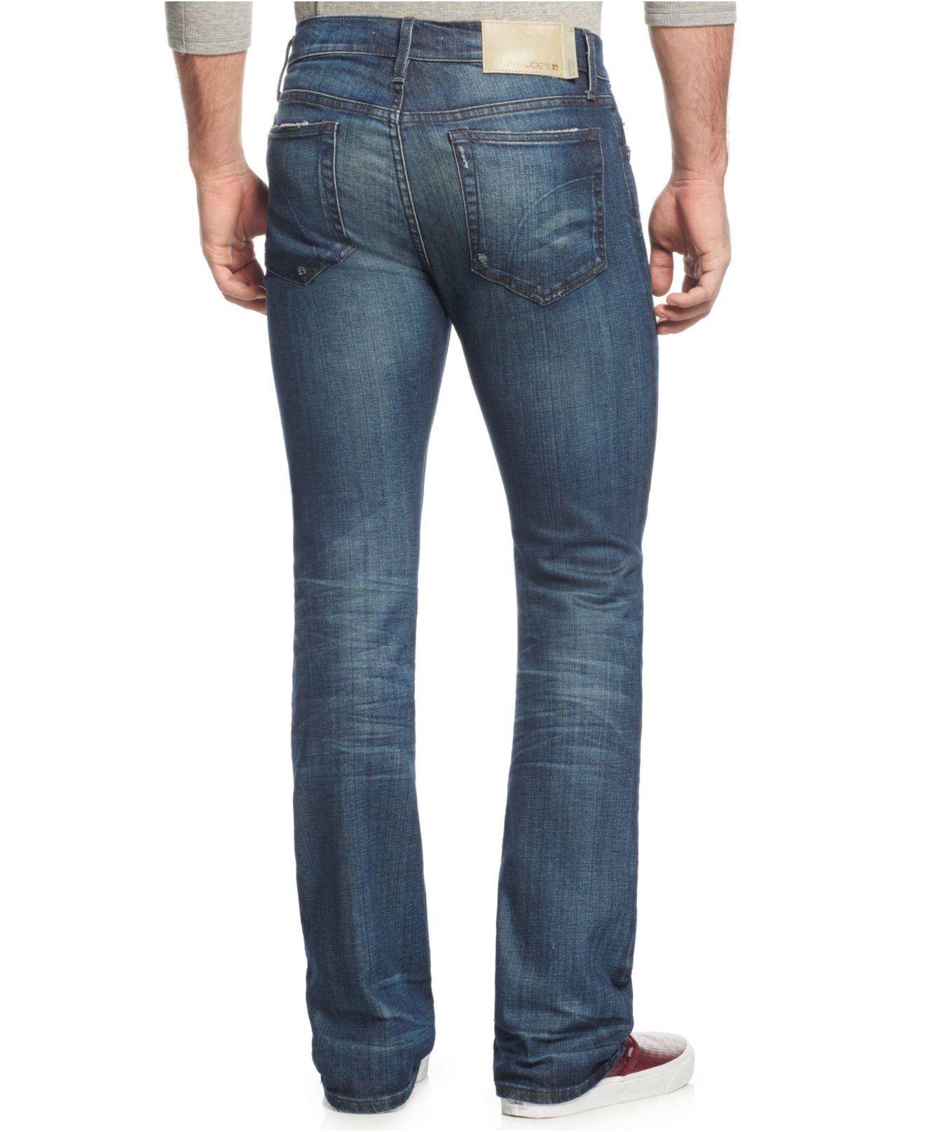 joe 39 s jeans the rocker bootcut jeans in blue for men lyst. Black Bedroom Furniture Sets. Home Design Ideas