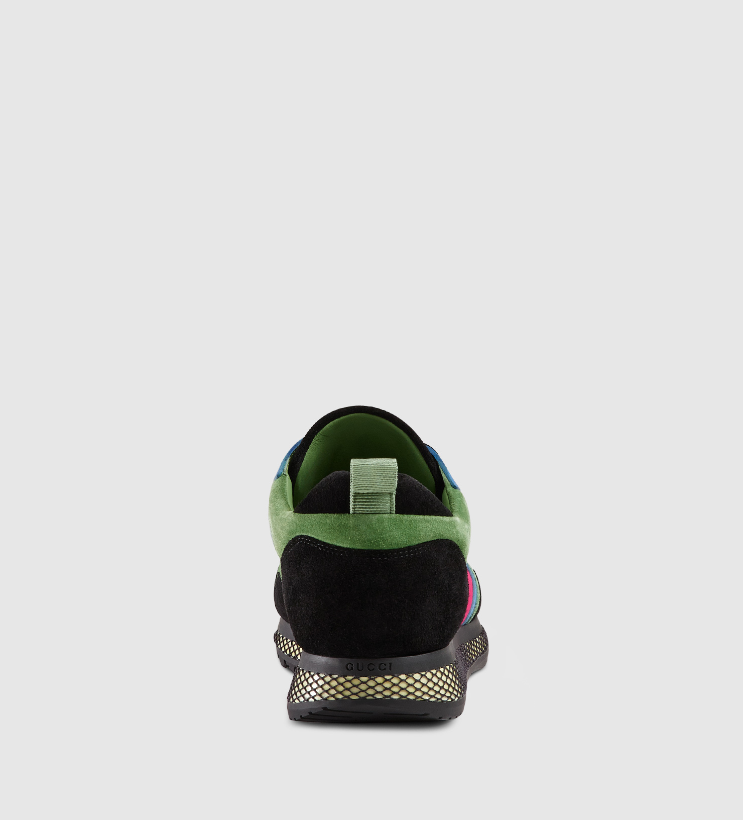 b81edcdf6 Gucci Contrast Combo Low-top Sneaker in Black for Men - Lyst