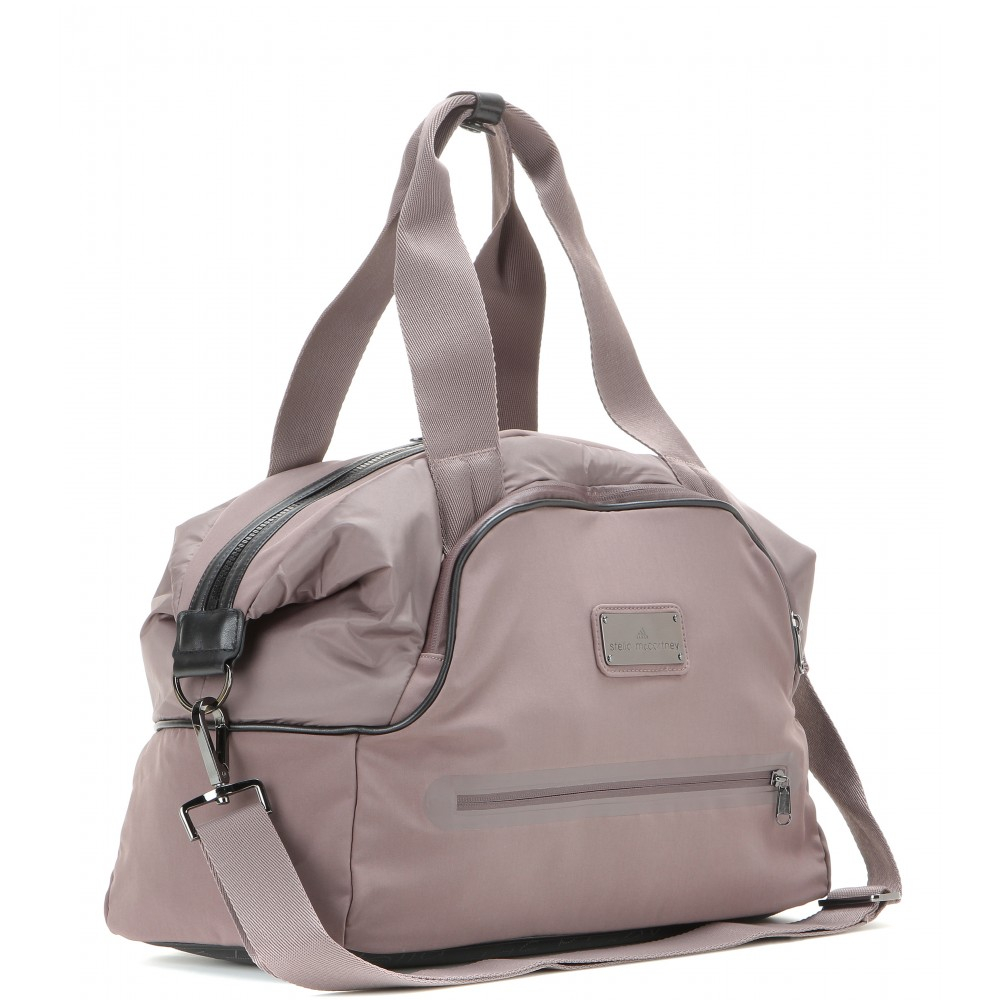Adidas By Stella Mccartney Iconic Small Gym Bag In Gray