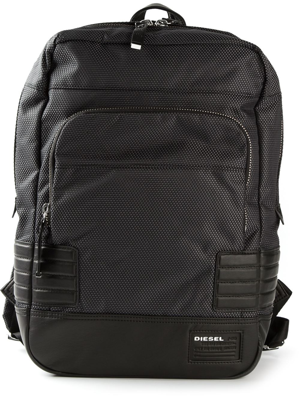 Diesel Urban Pack Backpack in Black for Men | Lyst