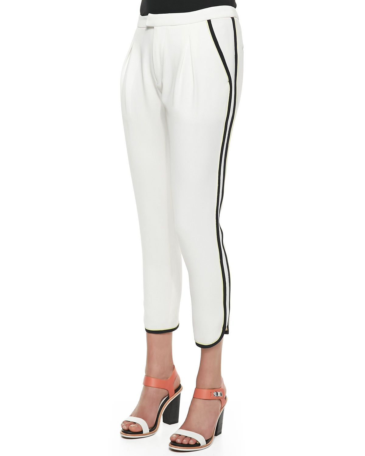 cropped tailored trousers - White Rag & Bone
