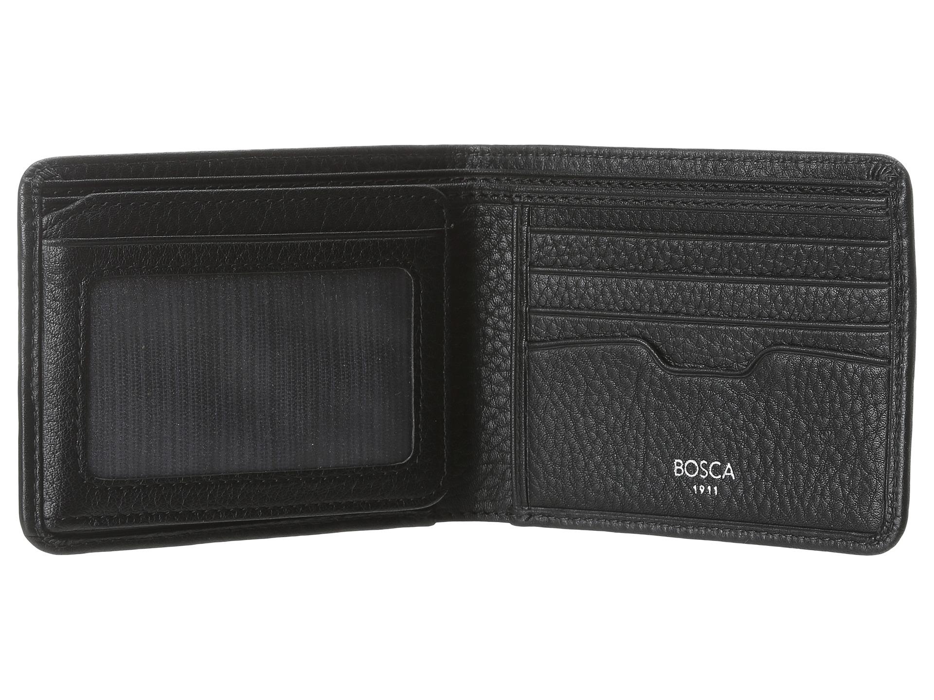 b105d9d77dc7 Lyst - Bosca Tribeca Continental Id Wallet in Black for Men