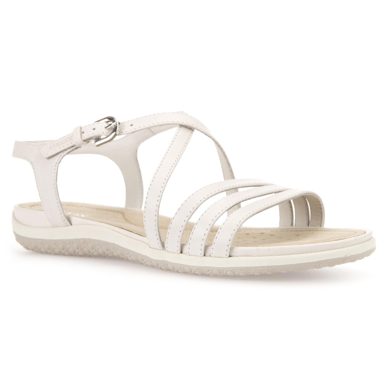 Geox Vega Sandals In White Lyst