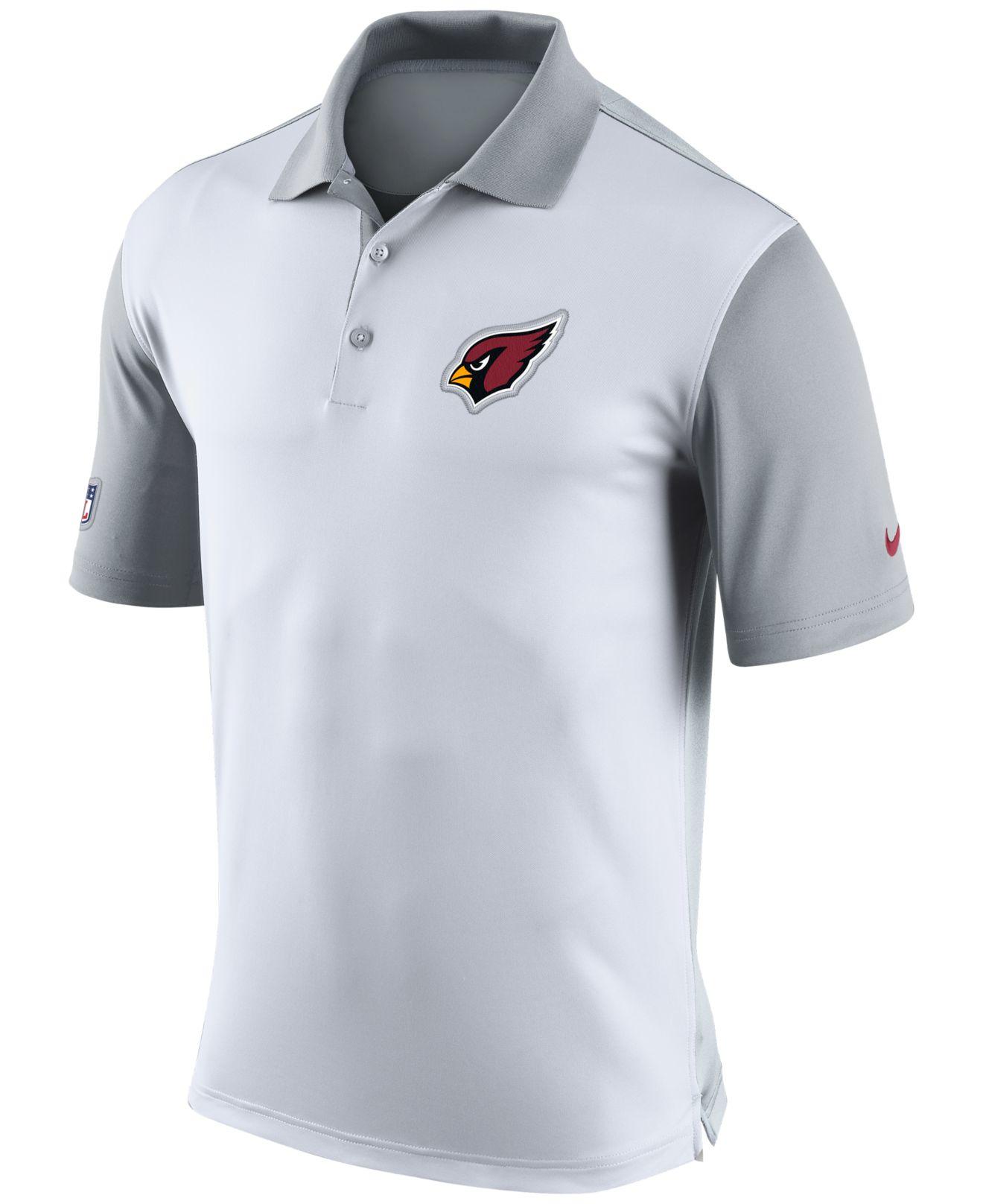 73e91e457d30 Lyst - Nike Men s Arizona Cardinals Preseason Polo in White for Men