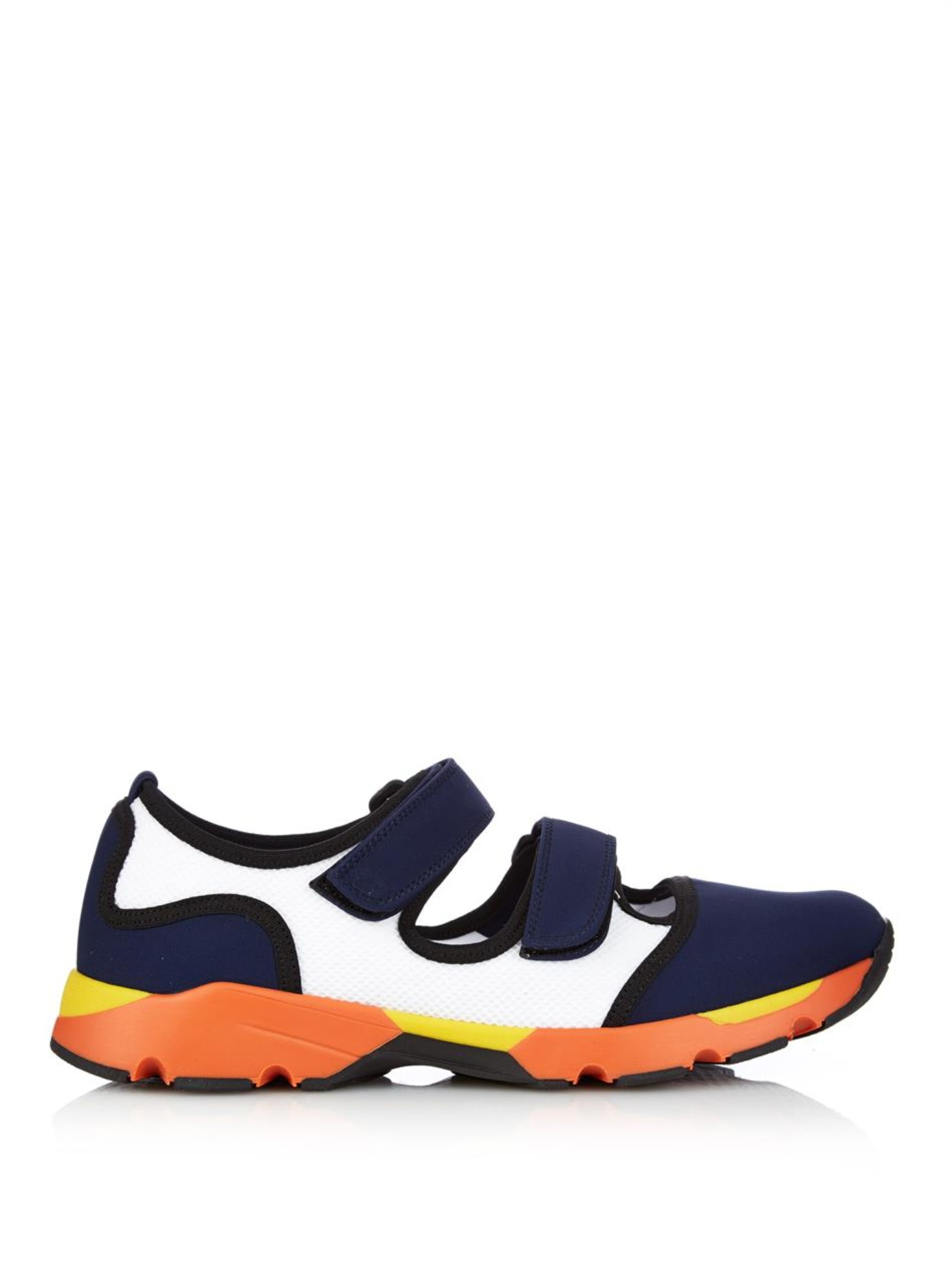 colour block sneakers - Blue Marni XOsVFsDpDt