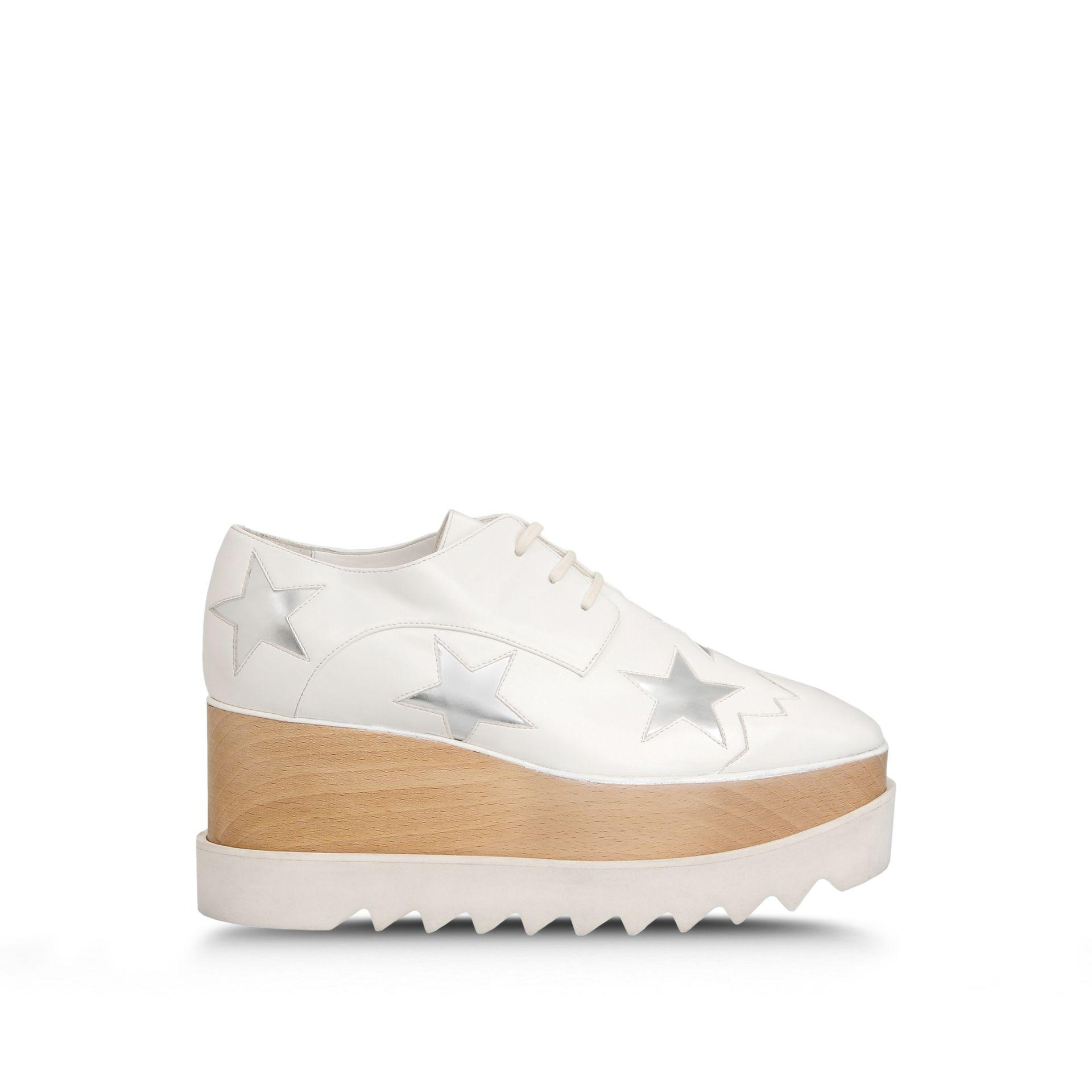 Elyse star platform sneakers - White Stella McCartney 3B3GNrPK
