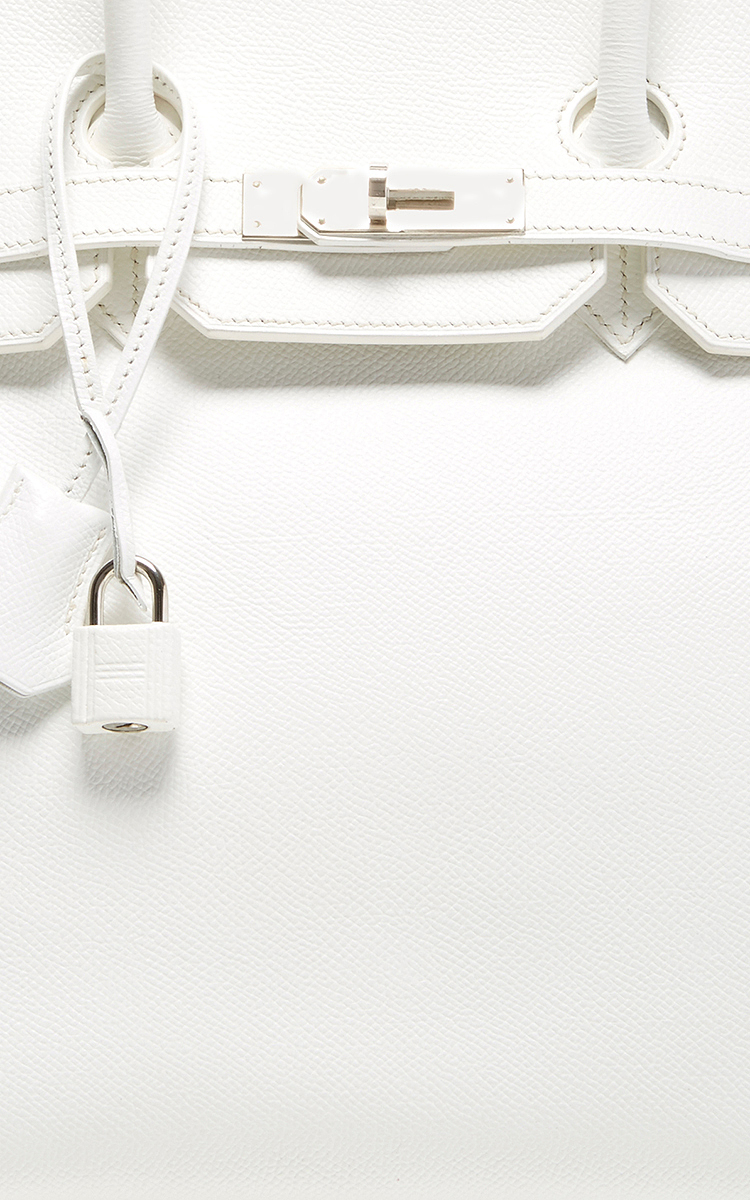 Heritage auctions special collection Hermes 35Cm White Epsom ...